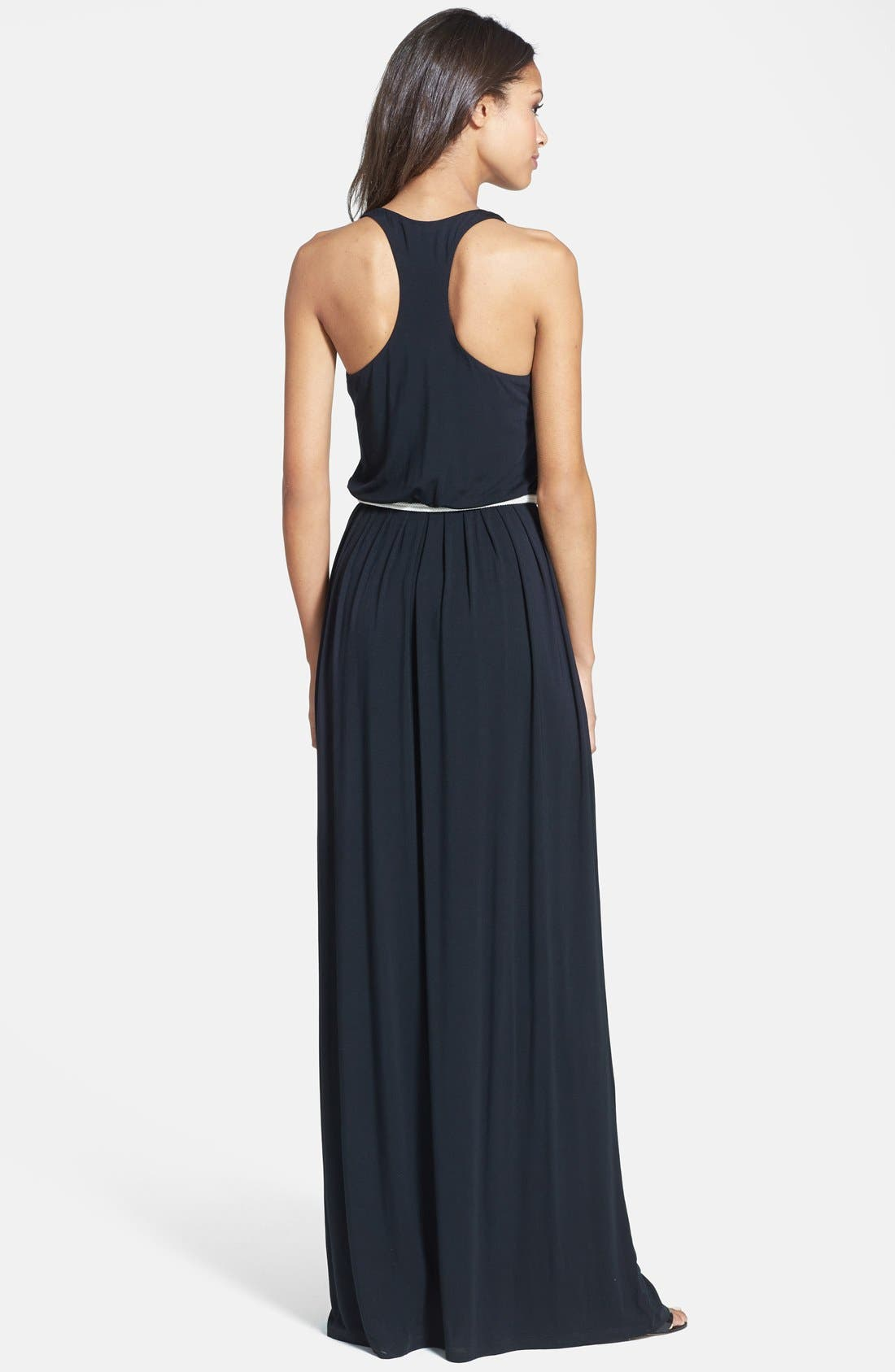 Alternate Image 2  - Tart Racerback Belted Maxi Dress