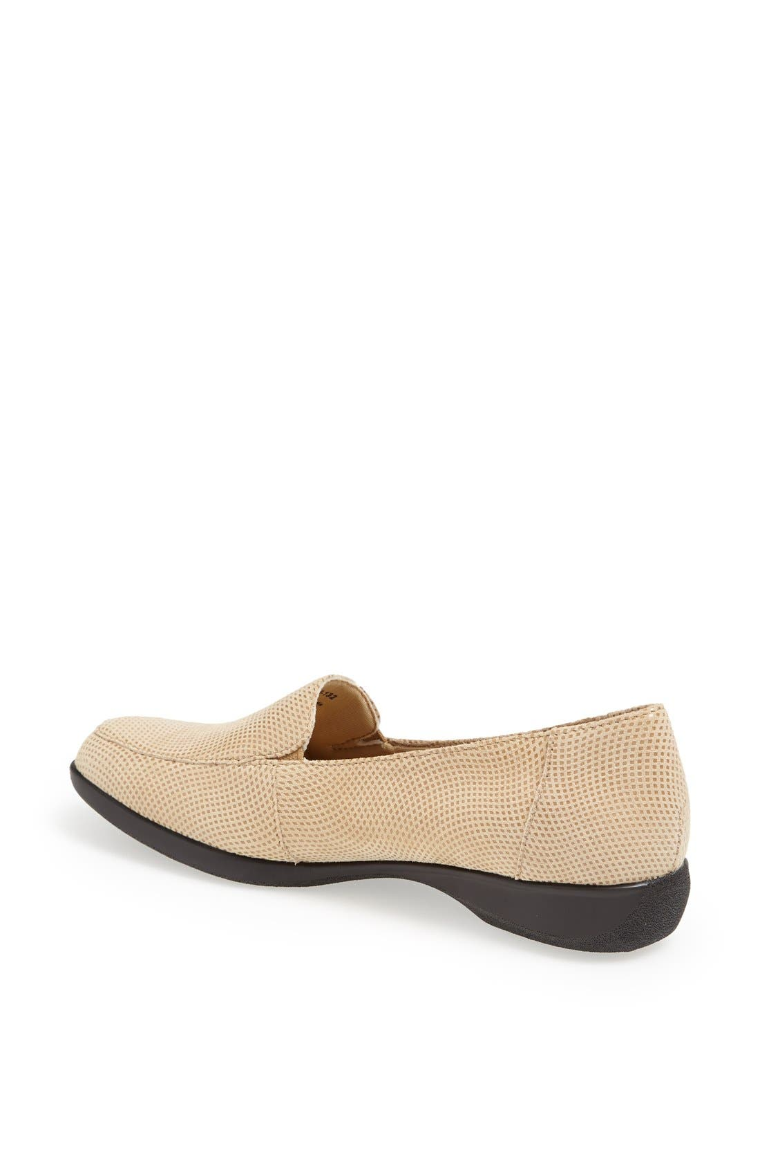 'Jenn' Loafer,                             Alternate thumbnail 2, color,                             Nude Mini Dot