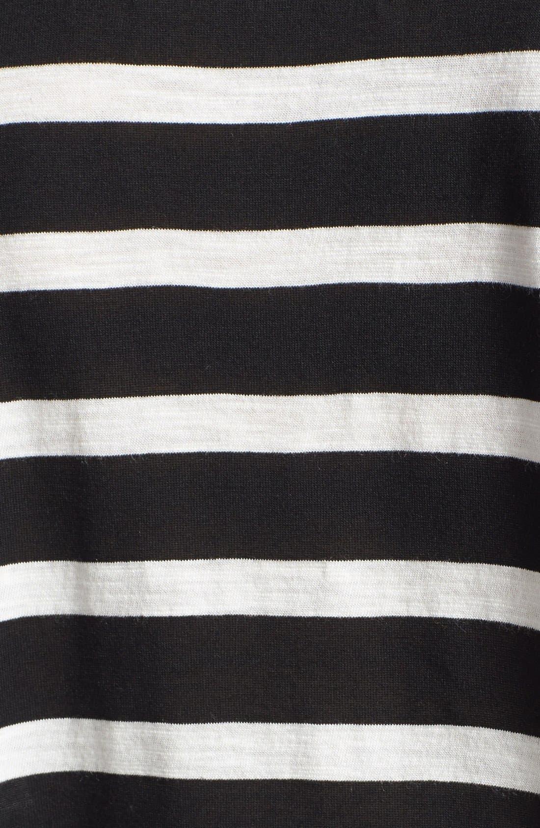 Alternate Image 3  - Lily Aldridge for Velvet by Graham & Spencer Stripe Tee