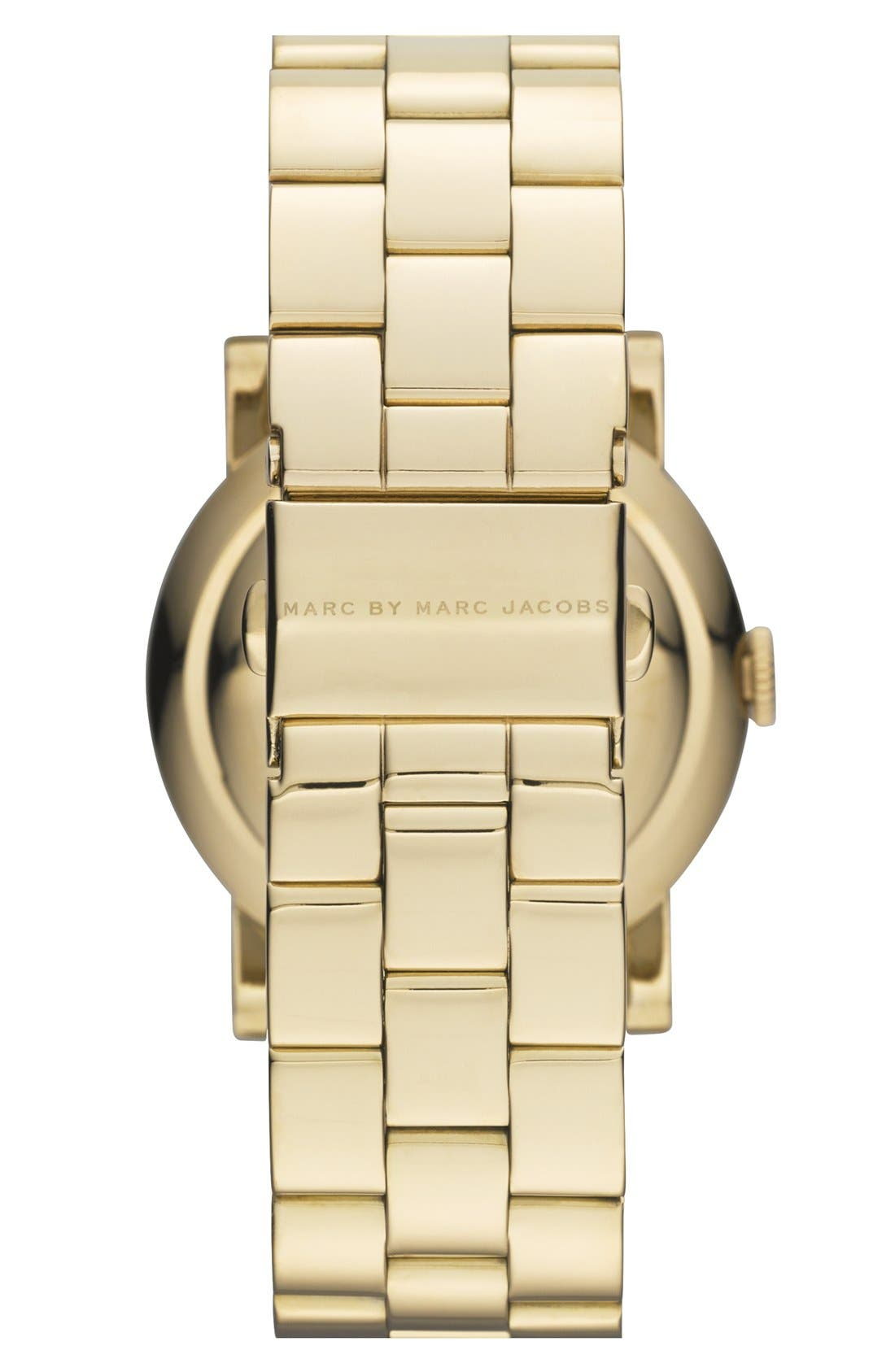 Alternate Image 2  - MARC JACOBS 'Amy' Bracelet Watch, 36mm