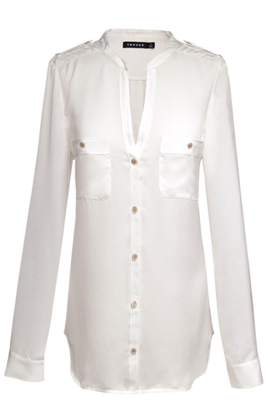 Alternate Image 3  - Trouvé Blazer, Shirt & Pants