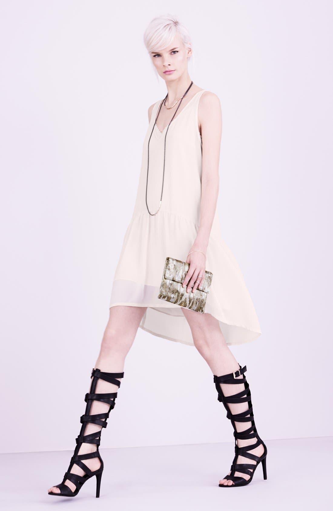 Main Image - Tildon High/Low Dress & Accessories