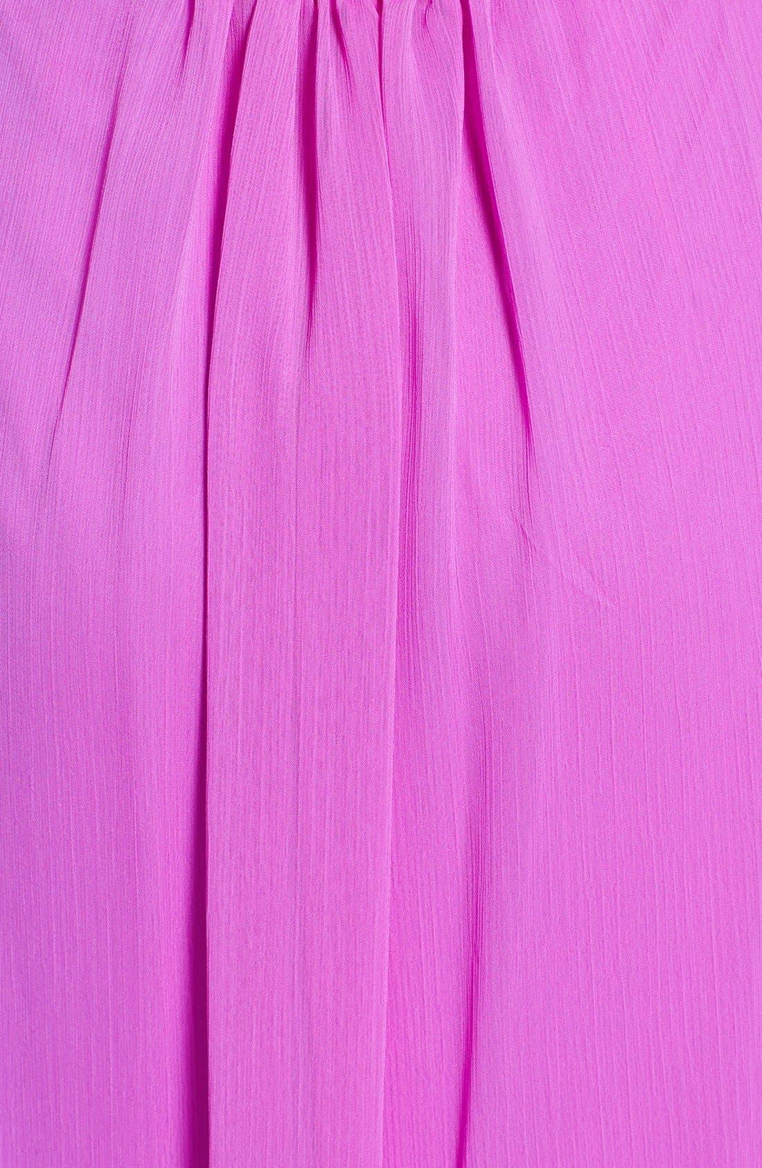 Alternate Image 3  - Jessica Simpson Ruffled Open Back Chiffon Maxi Dress