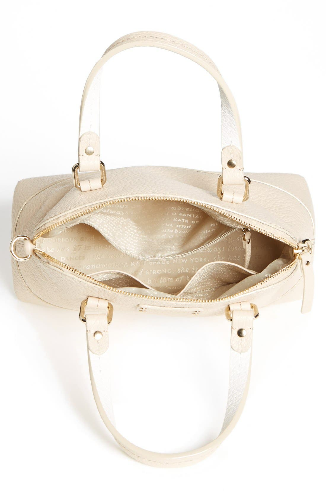 Alternate Image 3  - kate spade new york 'small grove court maise' leather satchel