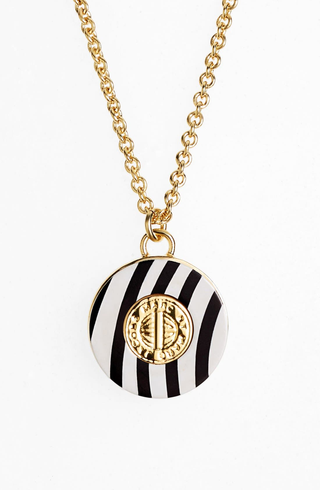 Main Image - MARC BY MARC JACOBS 'Charmed Pattern Coin' Pendant Necklace