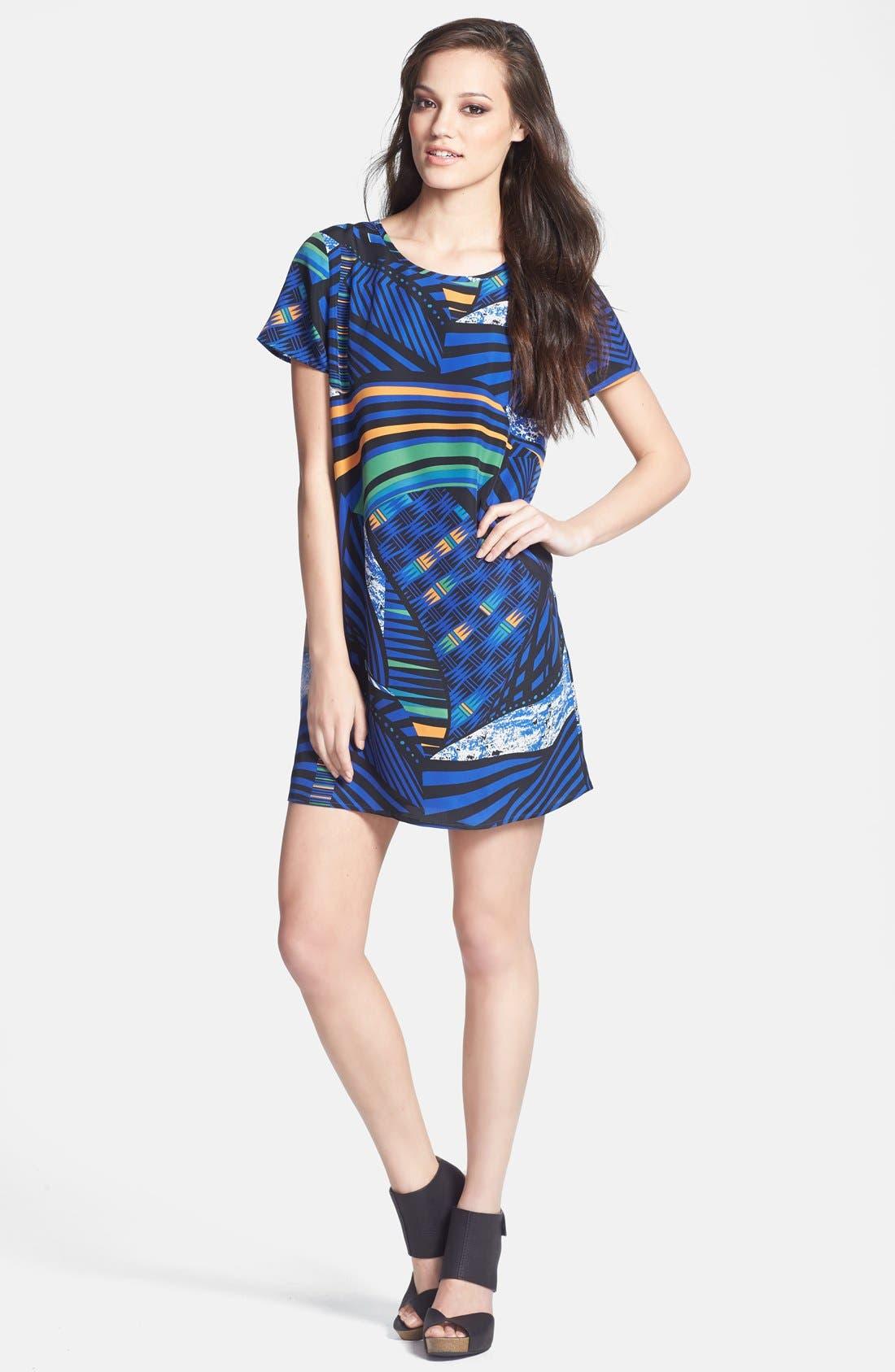 Main Image - Tildon Woven T-Shirt Dress
