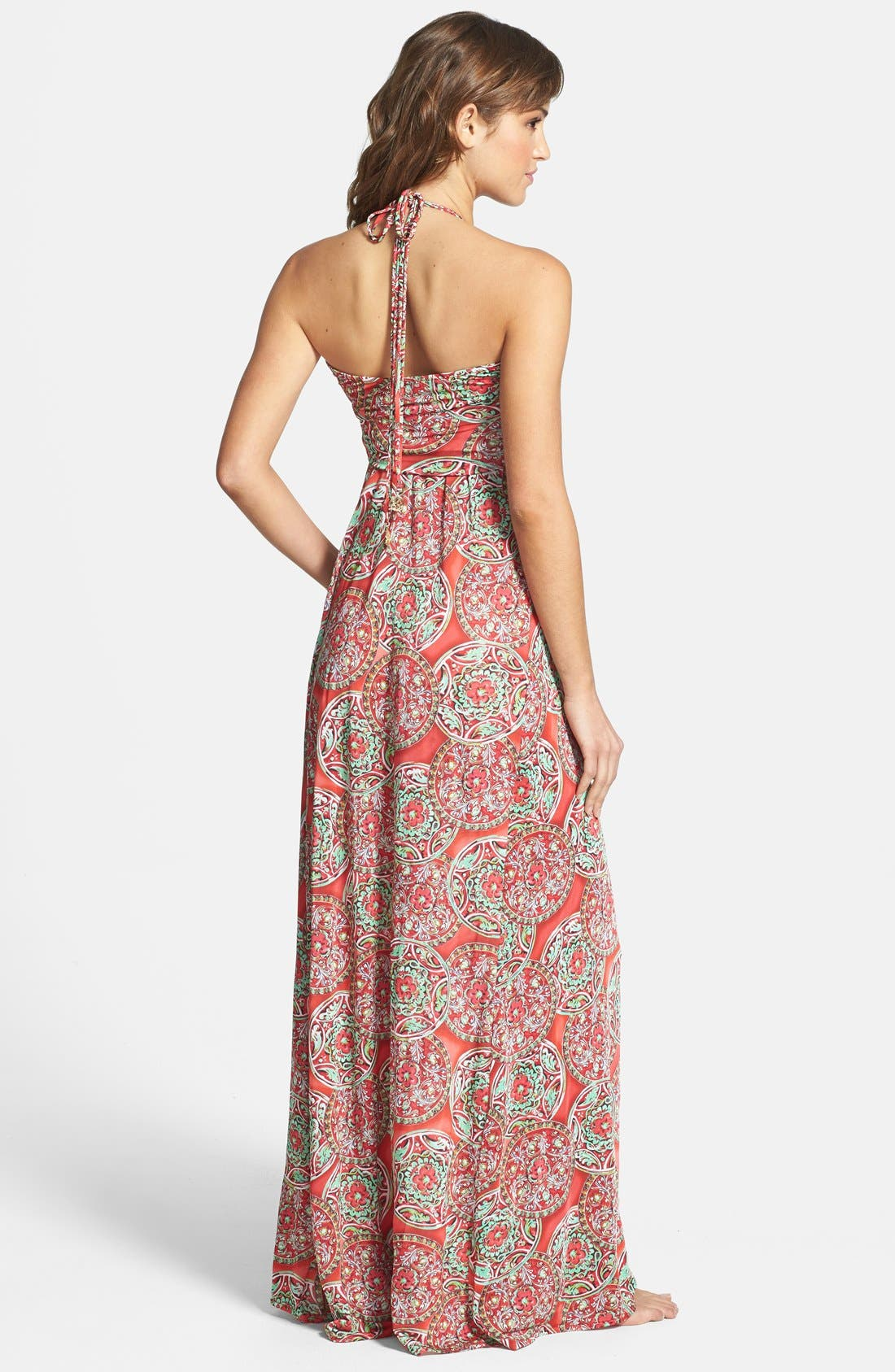 Alternate Image 2  - Luli Fama 'Cocktail Hour' Braided Strap Maxi Dress