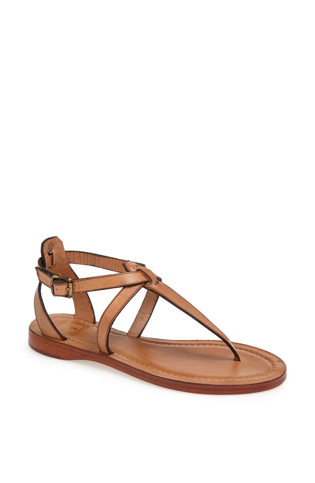 Alternate Image 1 Selected - Frye 'Rachel' T-Strap Sandal (Women)