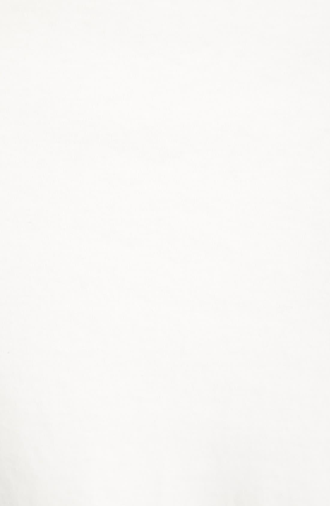 Slim Fit Interlock Knit Polo,                             Alternate thumbnail 7, color,                             White Snow