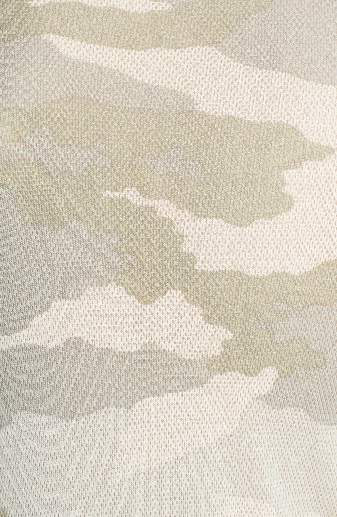 Alternate Image 3  - Majestic Camo Linen & Silk Tank