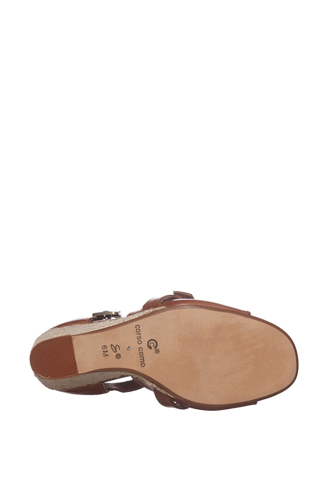 Alternate Image 4  - Corso Como 'Hello' Calfskin Leather Sandal