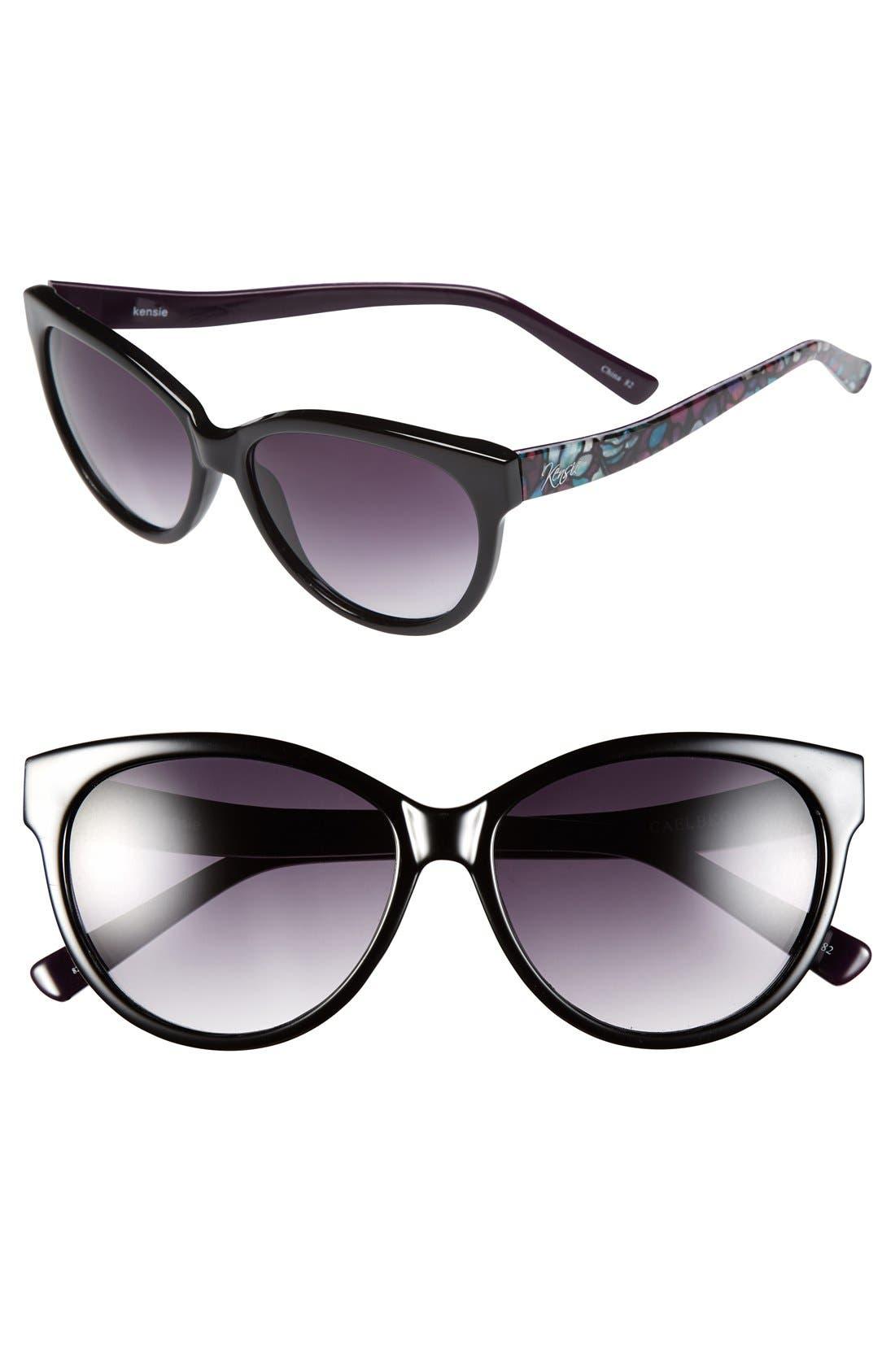 Alternate Image 1 Selected - kensie 'Caelyn' 57mm Cat Eye Sunglasses