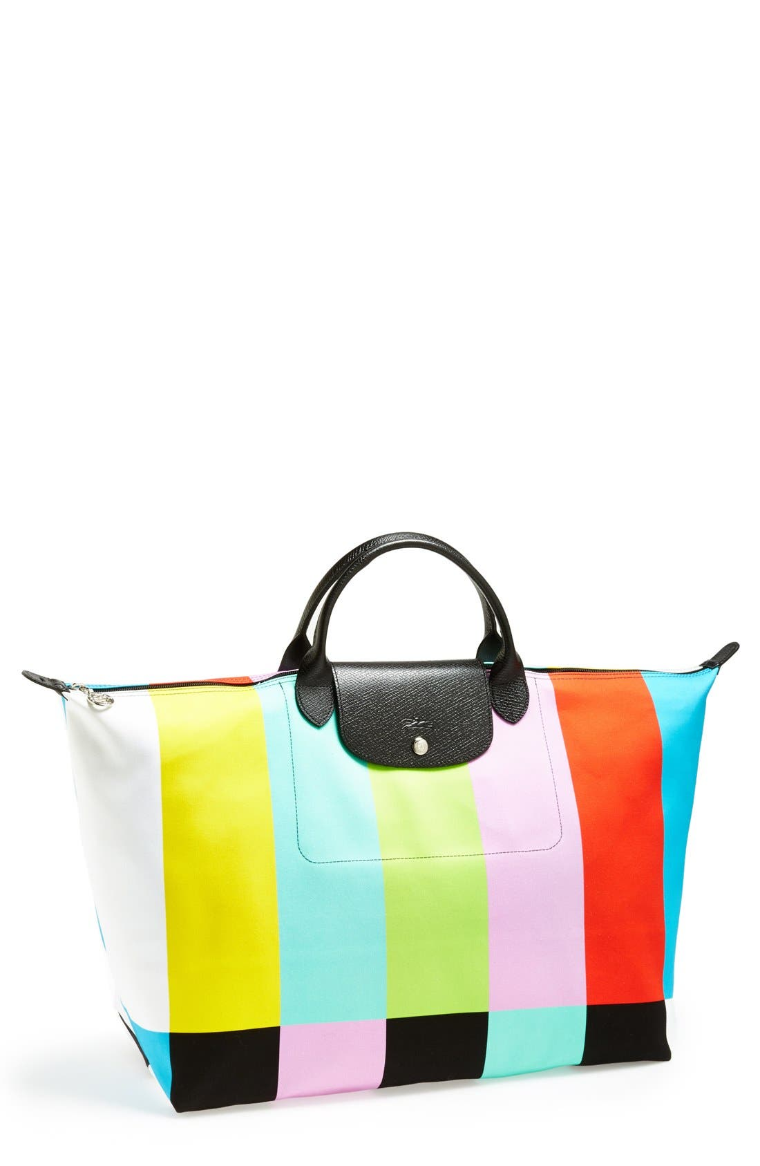 Alternate Image 1 Selected - Longchamp 'Jeremy Scott - Color Bar' Travel Bag