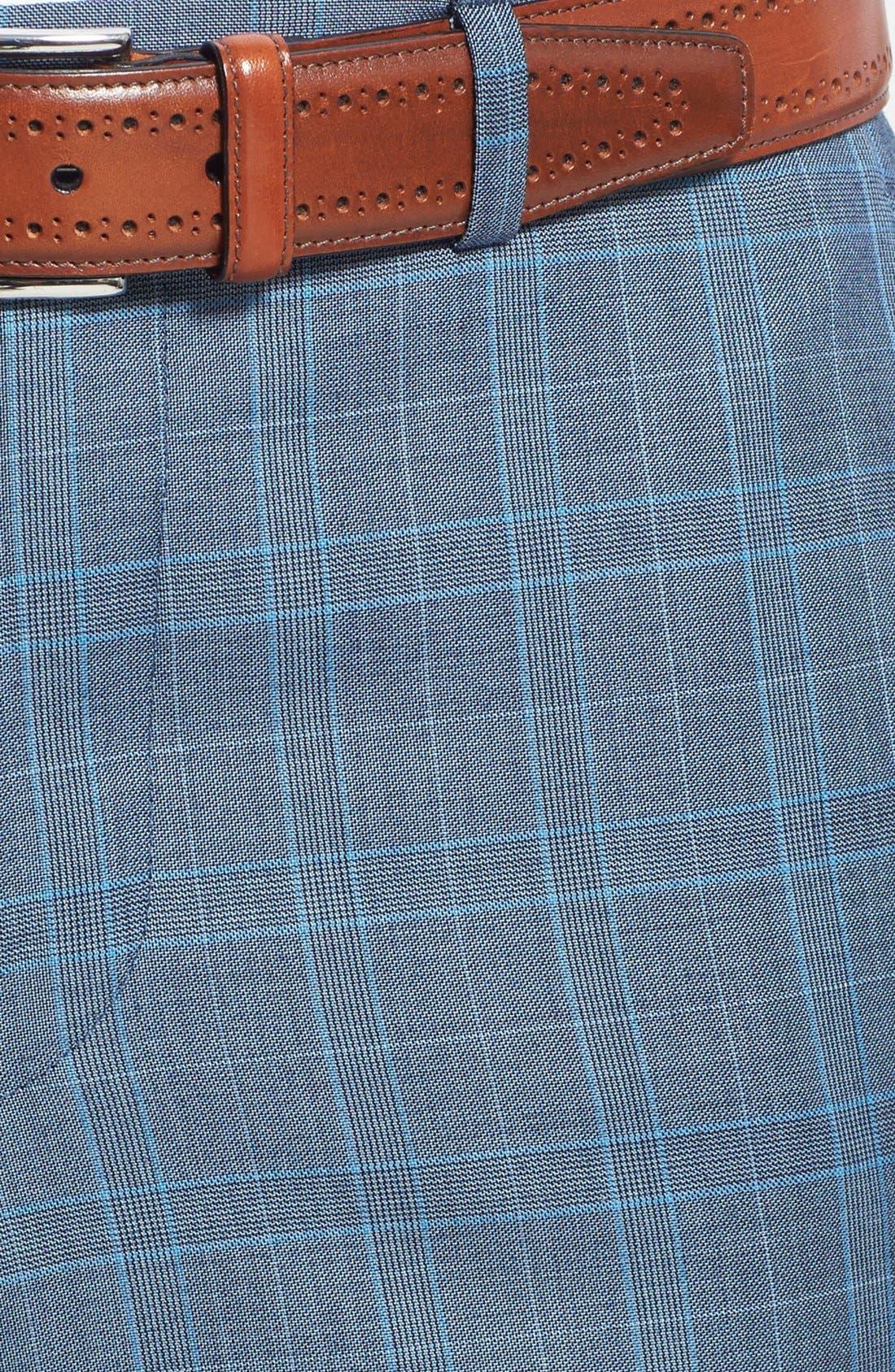 Alternate Image 6  - Ted Baker London 'Jones' Trim Fit Three-Piece Wool Suit