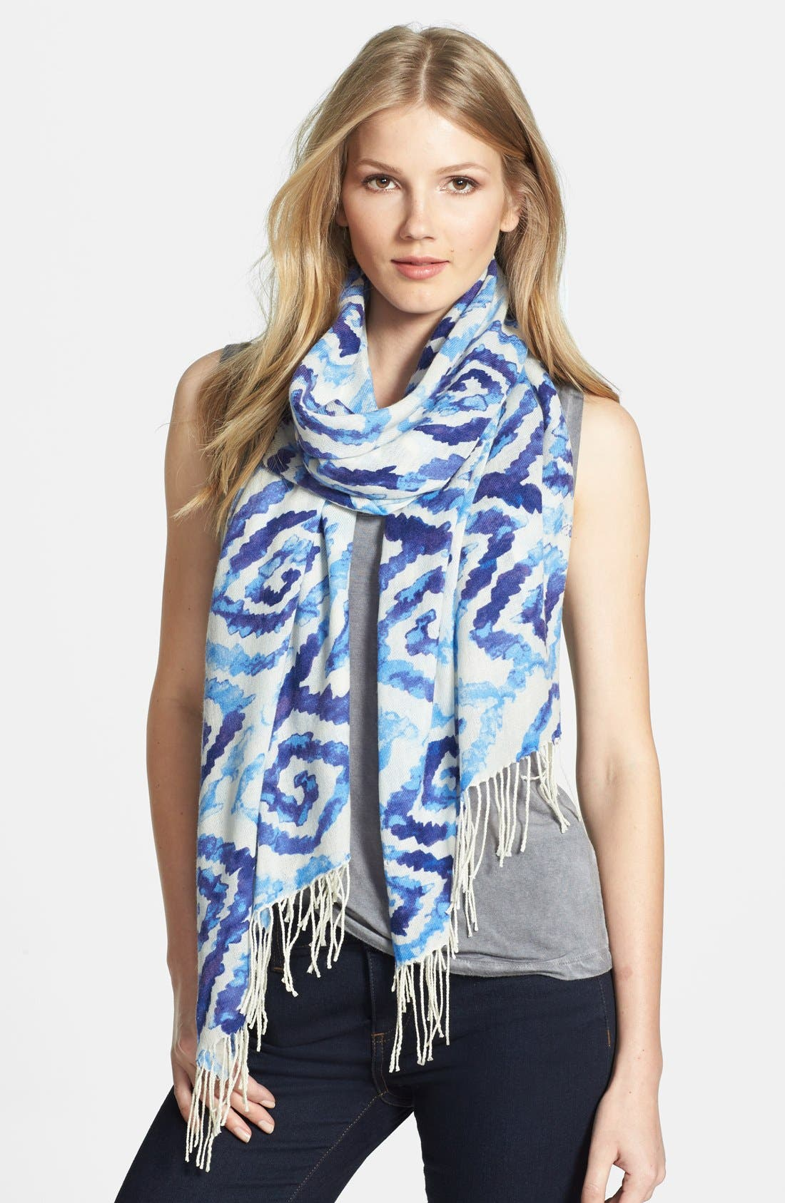Alternate Image 1 Selected - Nordstrom Wool & Cashmere Scarf