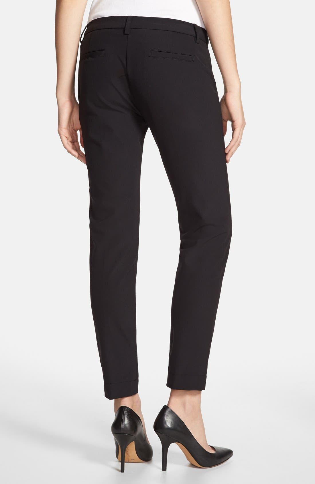 Alternate Image 2  - Kenneth Cole New York 'Alison' Zip Pocket Pants (Regular & Petite)