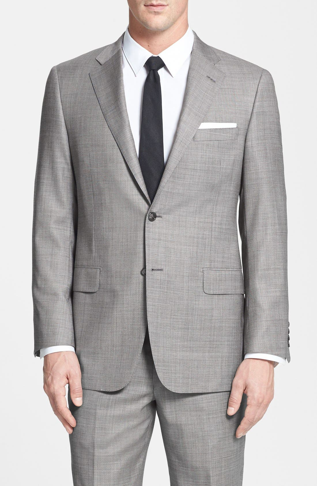 Alternate Image 3  - BEACON HIGH LOW MOHAIR 2BTN SUIT