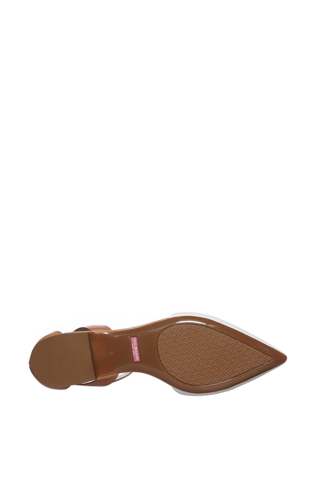 Alternate Image 4  - Isaac Mizrahi New York 'Evelyn' Leather Flat