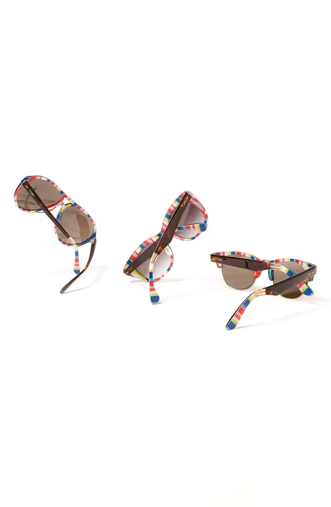 Alternate Image 3  - TOMS 'Marco' 58mm Sunglasses
