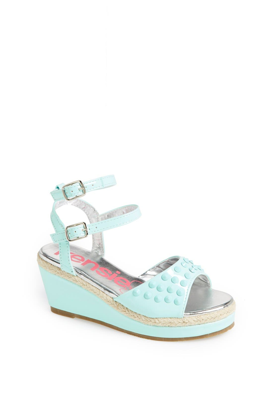 Main Image - kensie girl Studded Wedge Sandal (Toddler, Little Kid & Big Kid)