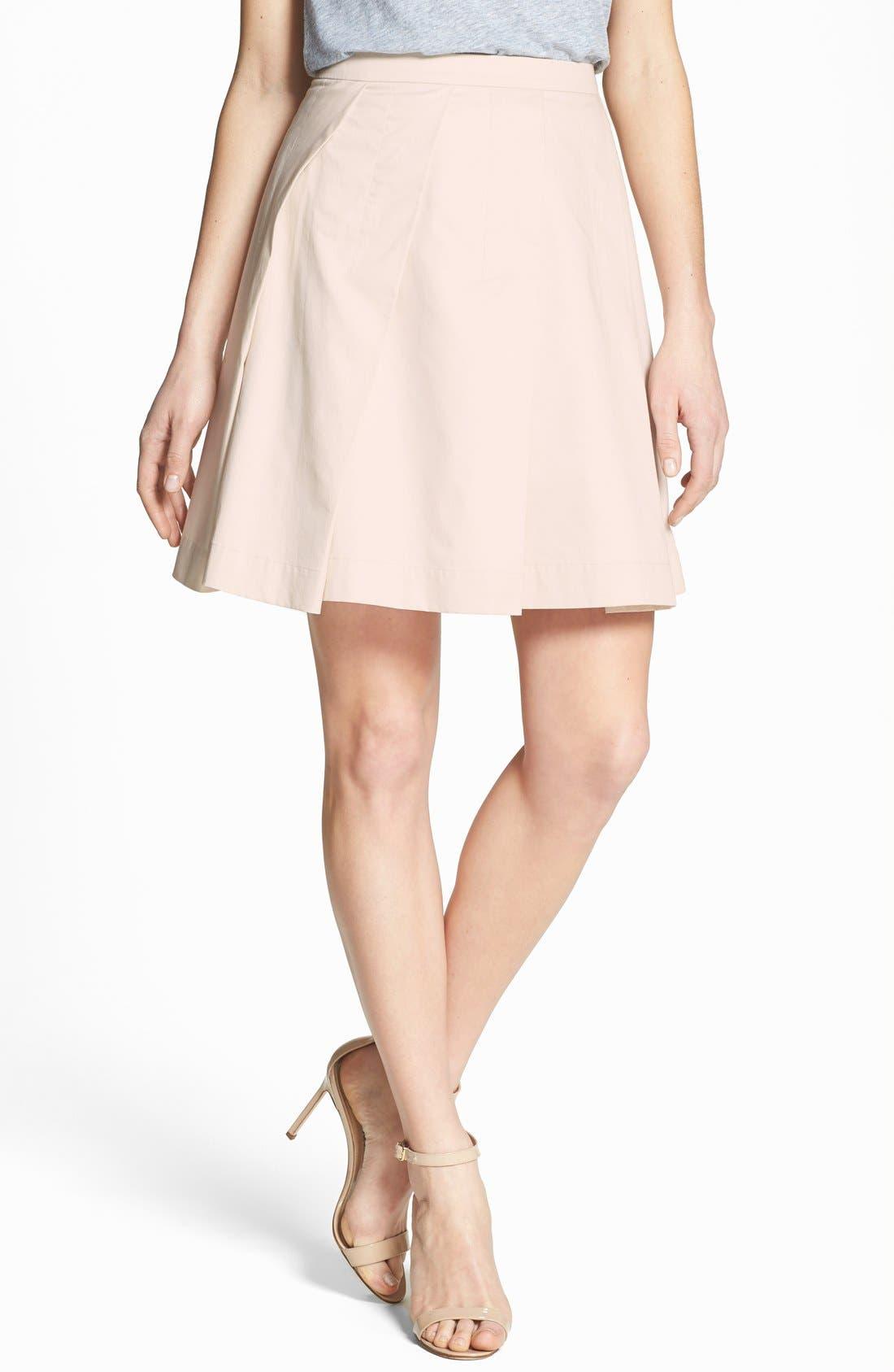 Alternate Image 1 Selected - Theory 'Sarise' Pleat Full Skirt