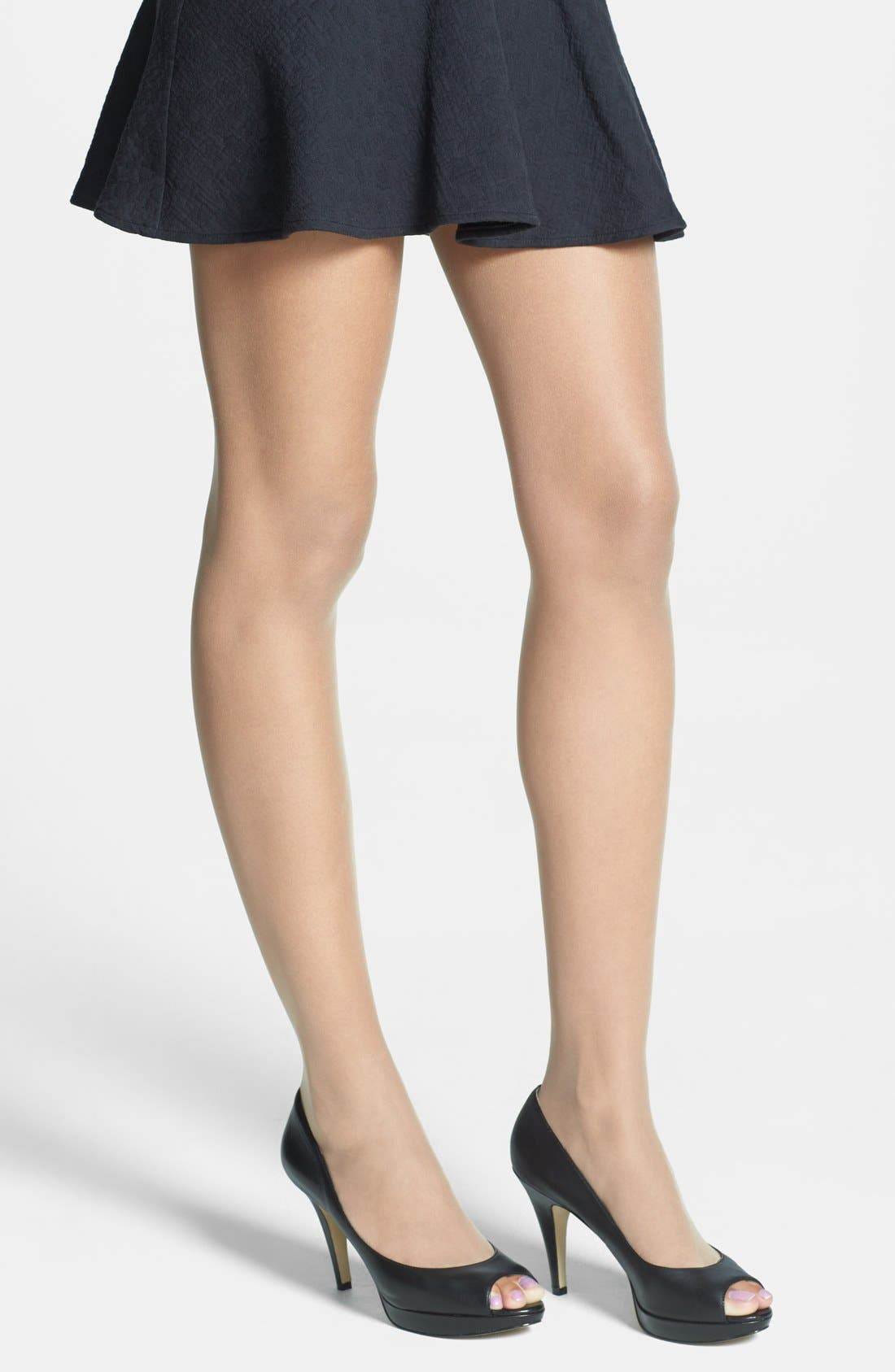 Main Image - Wolford 'Luxe 9' Toeless Tights