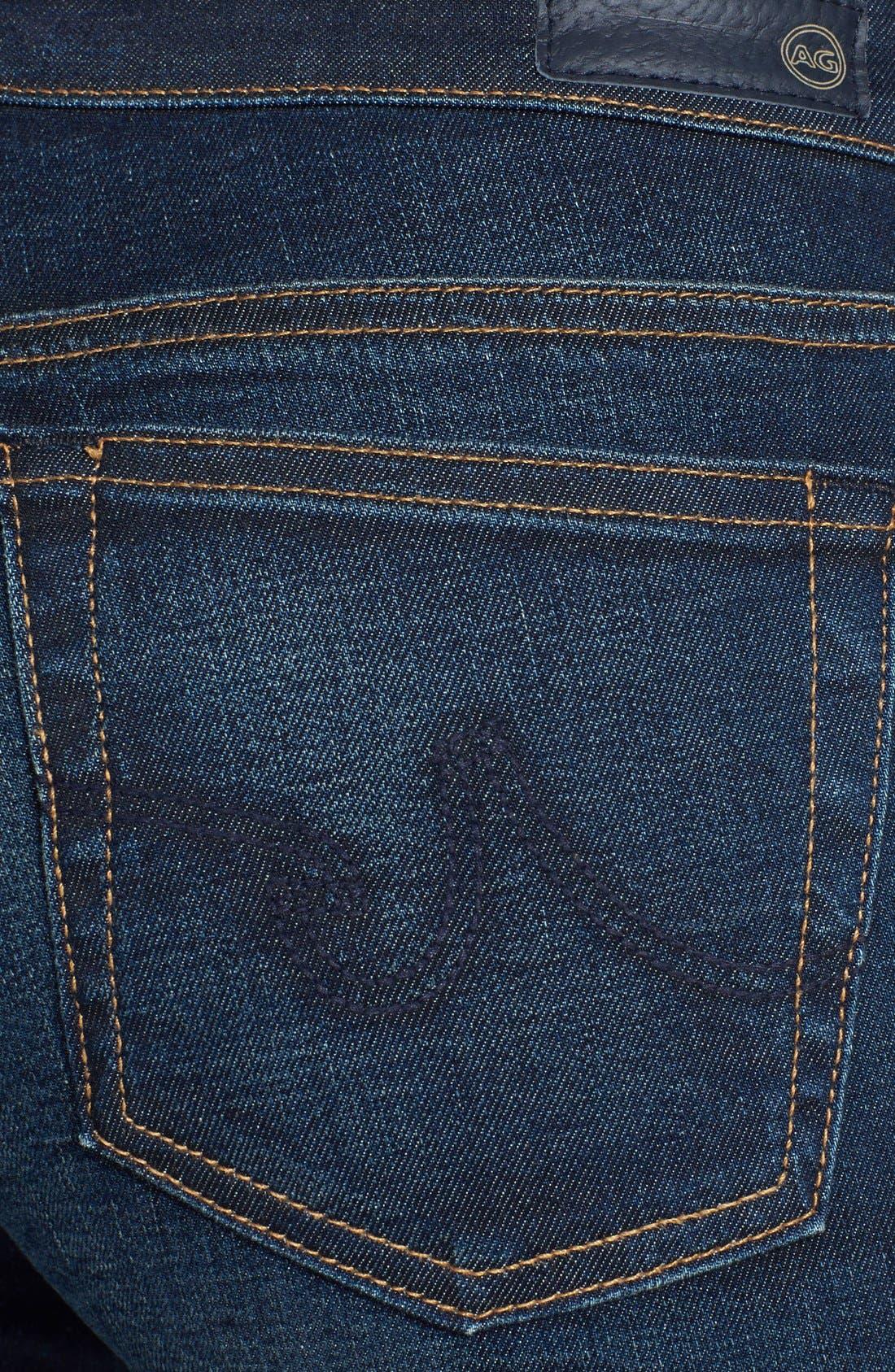 Alternate Image 3  - AG 'The Stilt' Cigarette Leg Jeans (Three Year Propell)