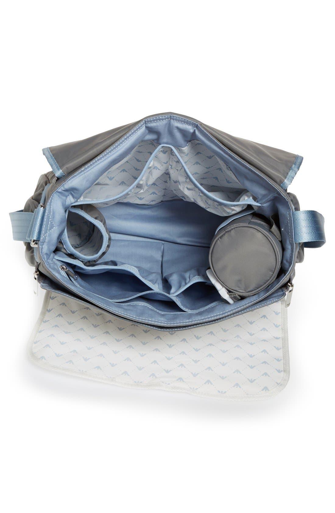 Alternate Image 2  - Armani Junior Nylon Diaper Bag