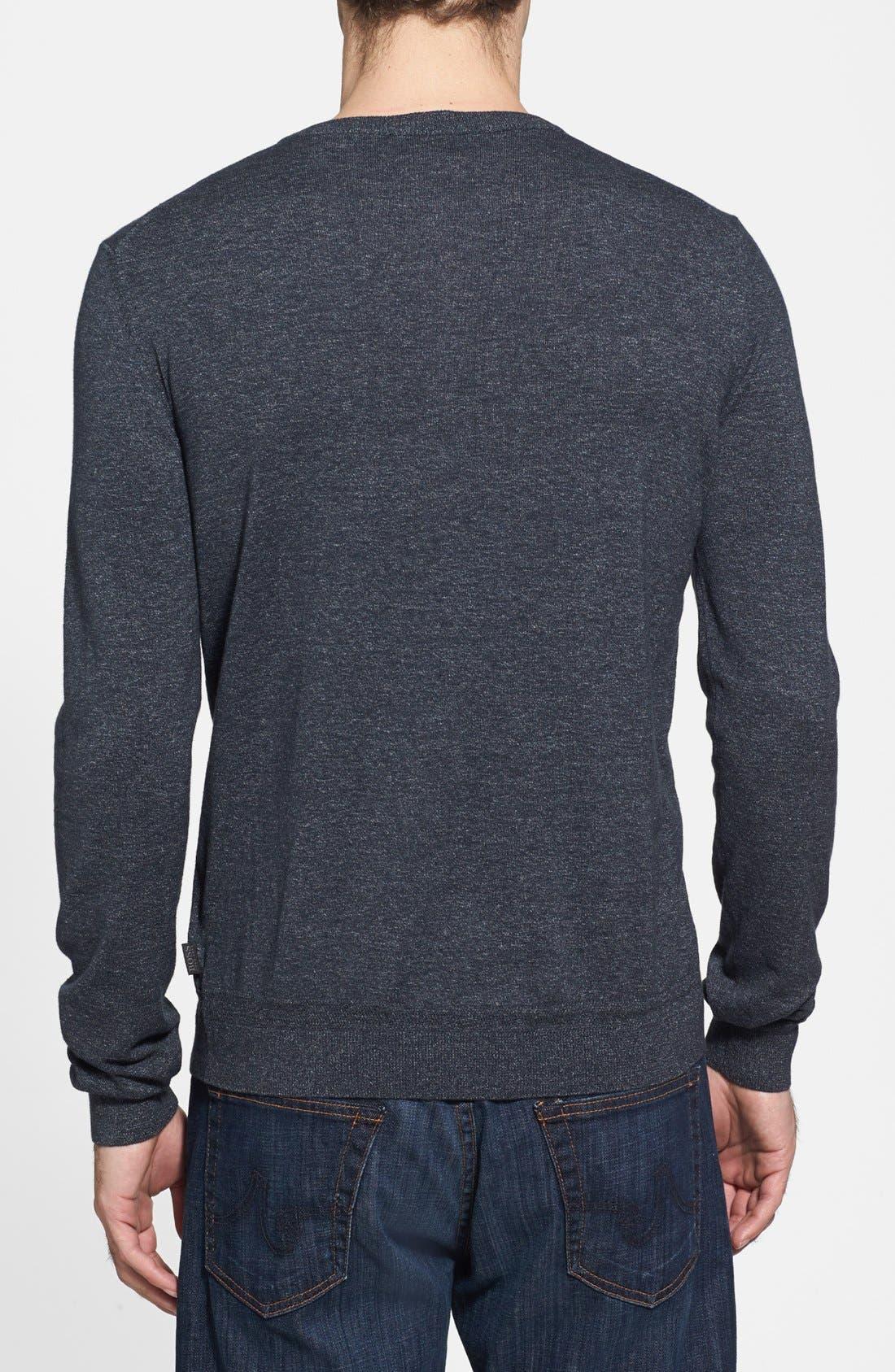 Alternate Image 2  - BOSS HUGO BOSS 'Pilgrim' Henley Sweater