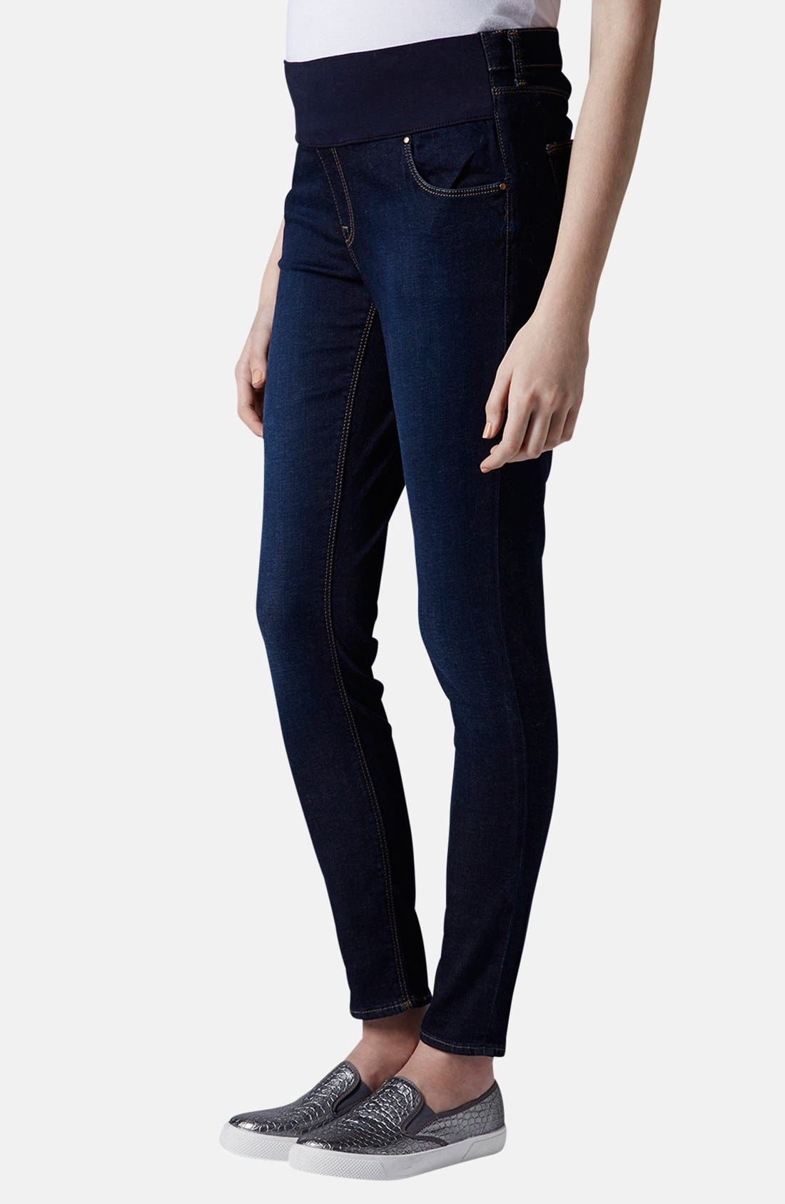 Topshop 'Leigh' Maternity Skinny Jeans