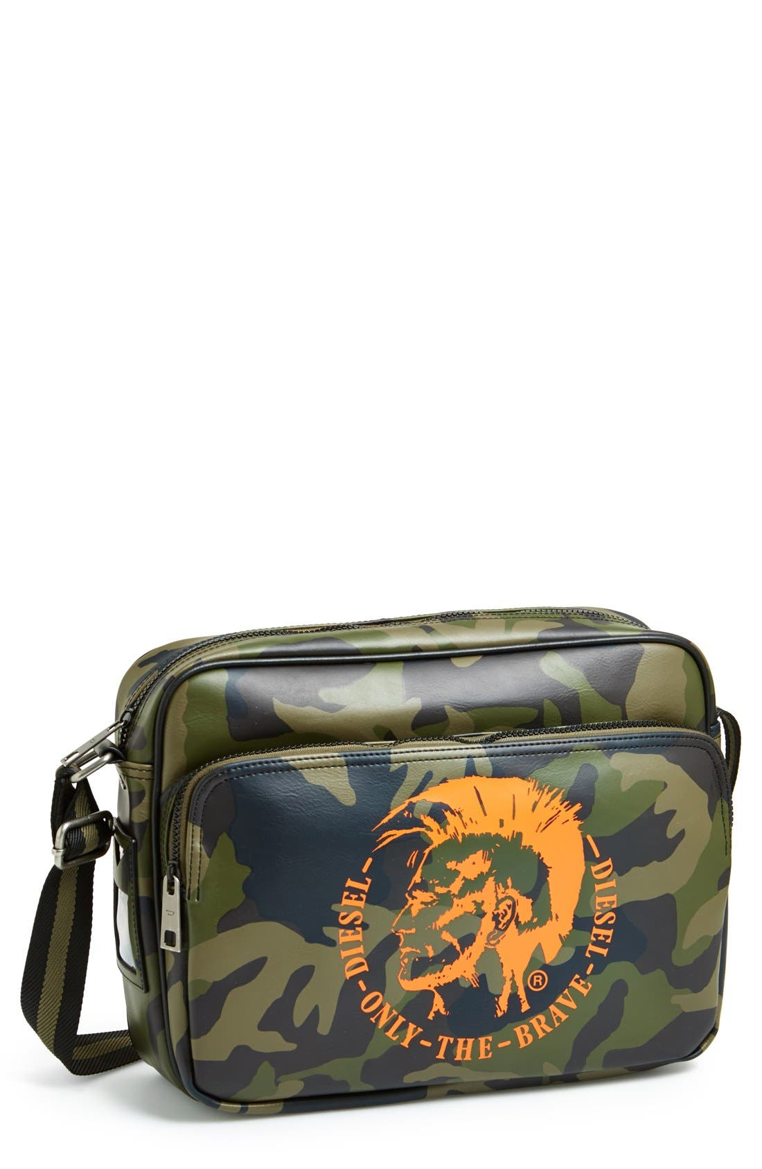 Alternate Image 1 Selected - DIESEL® Camouflage Crossbody Bag