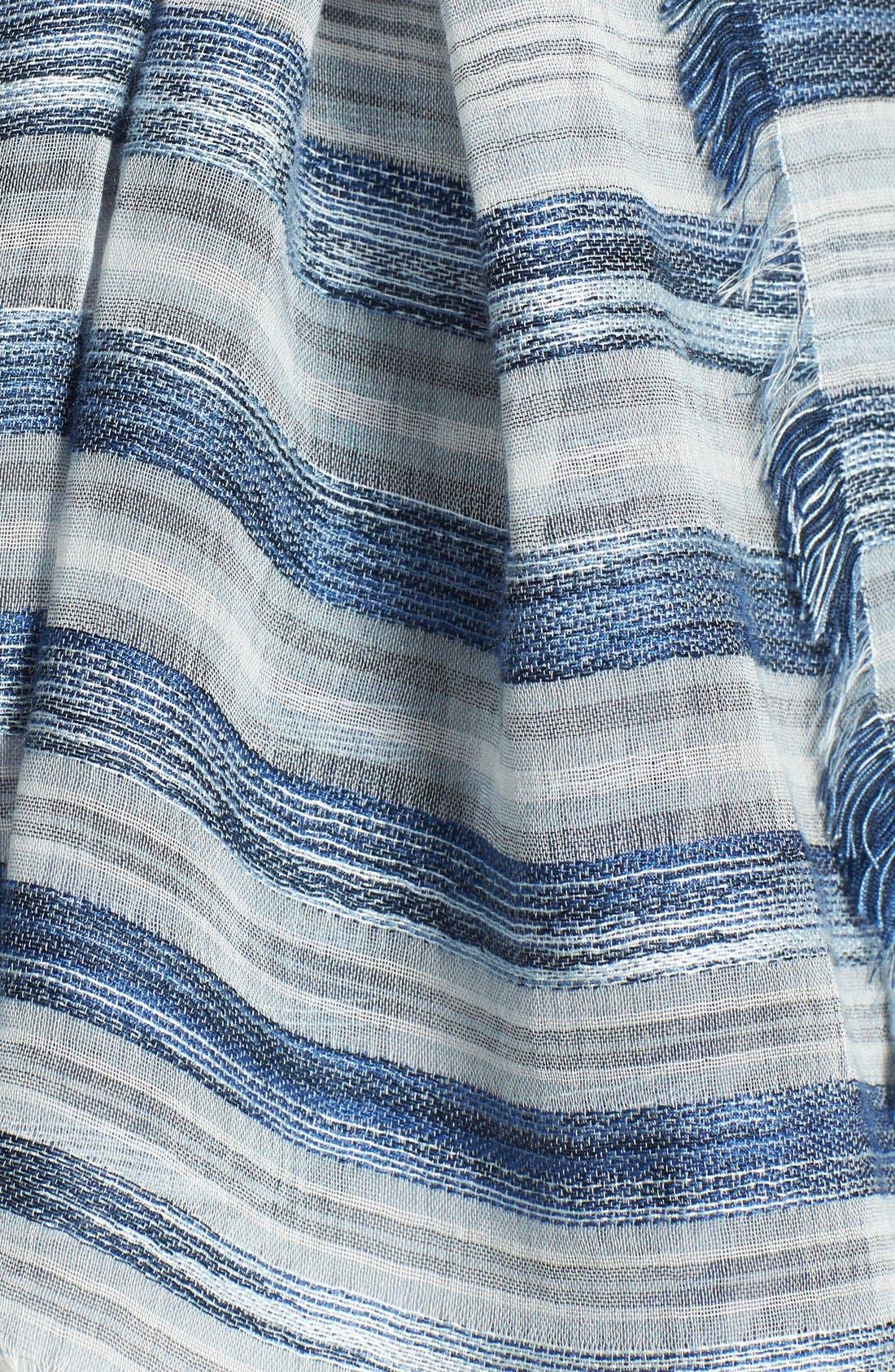 Alternate Image 2  - Eileen Fisher Stripe Scarf