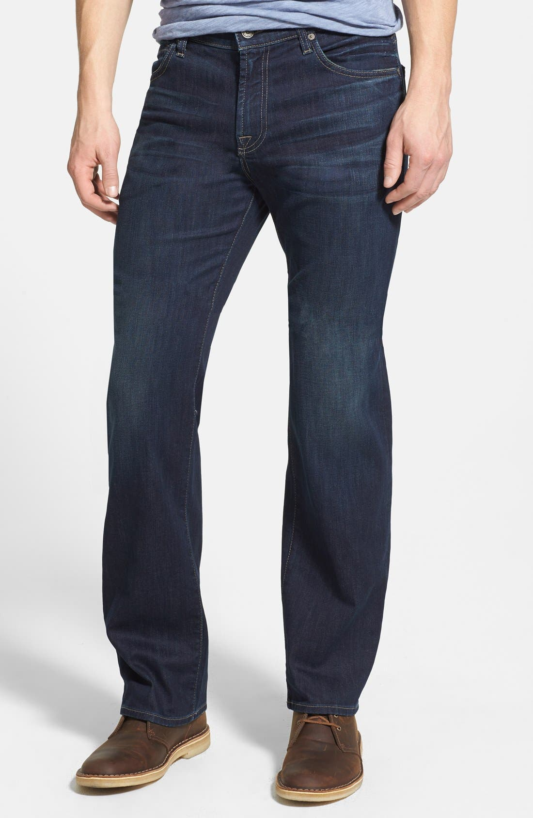 Main Image - 7 For All Mankind® 'Austyn - Luxe Performance' Relaxed Straight Leg Jeans (Angeleno Hills)