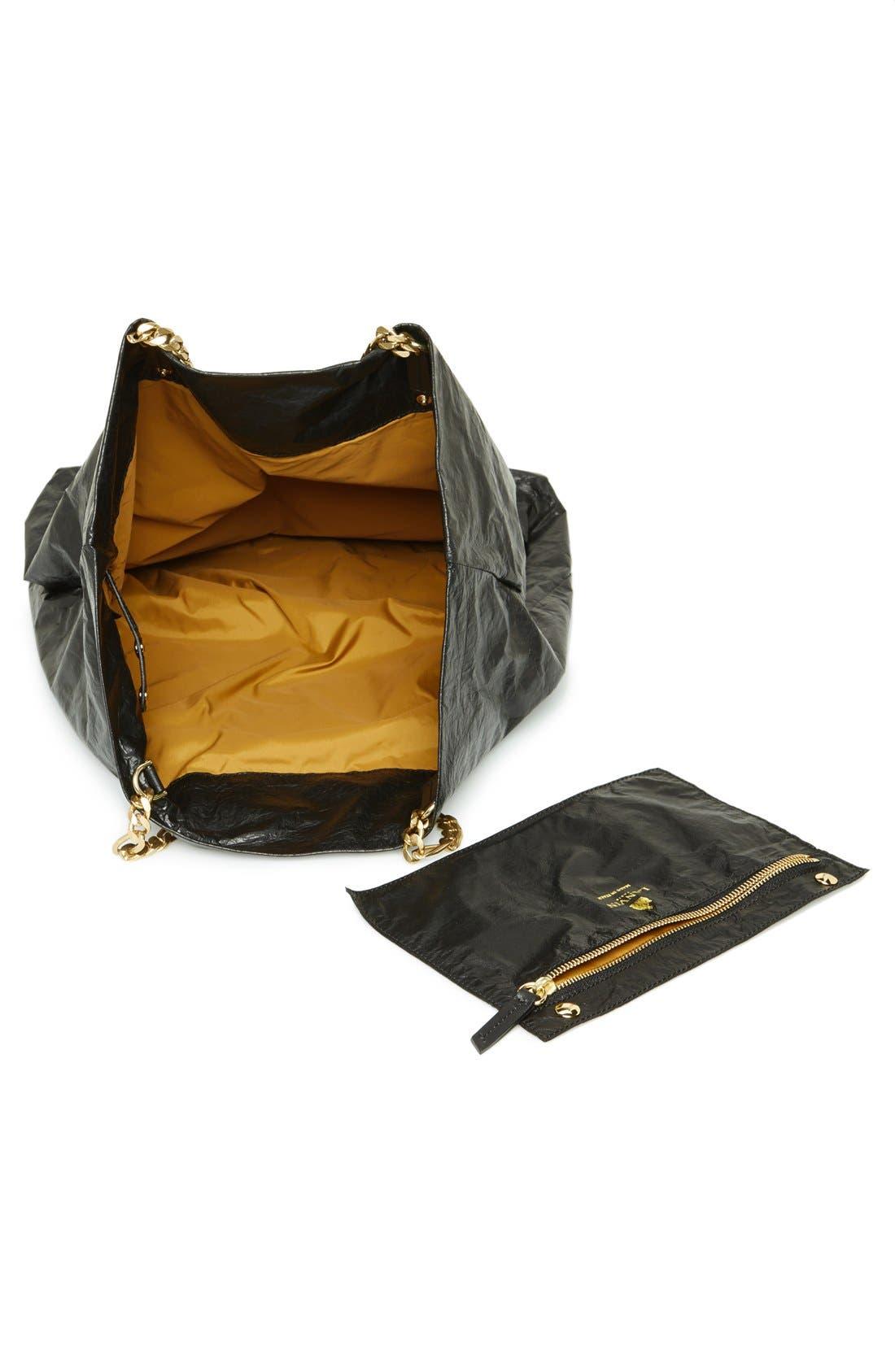 Alternate Image 3  - Lanvin 'Paper Bag' Laminated Lambskin Tote