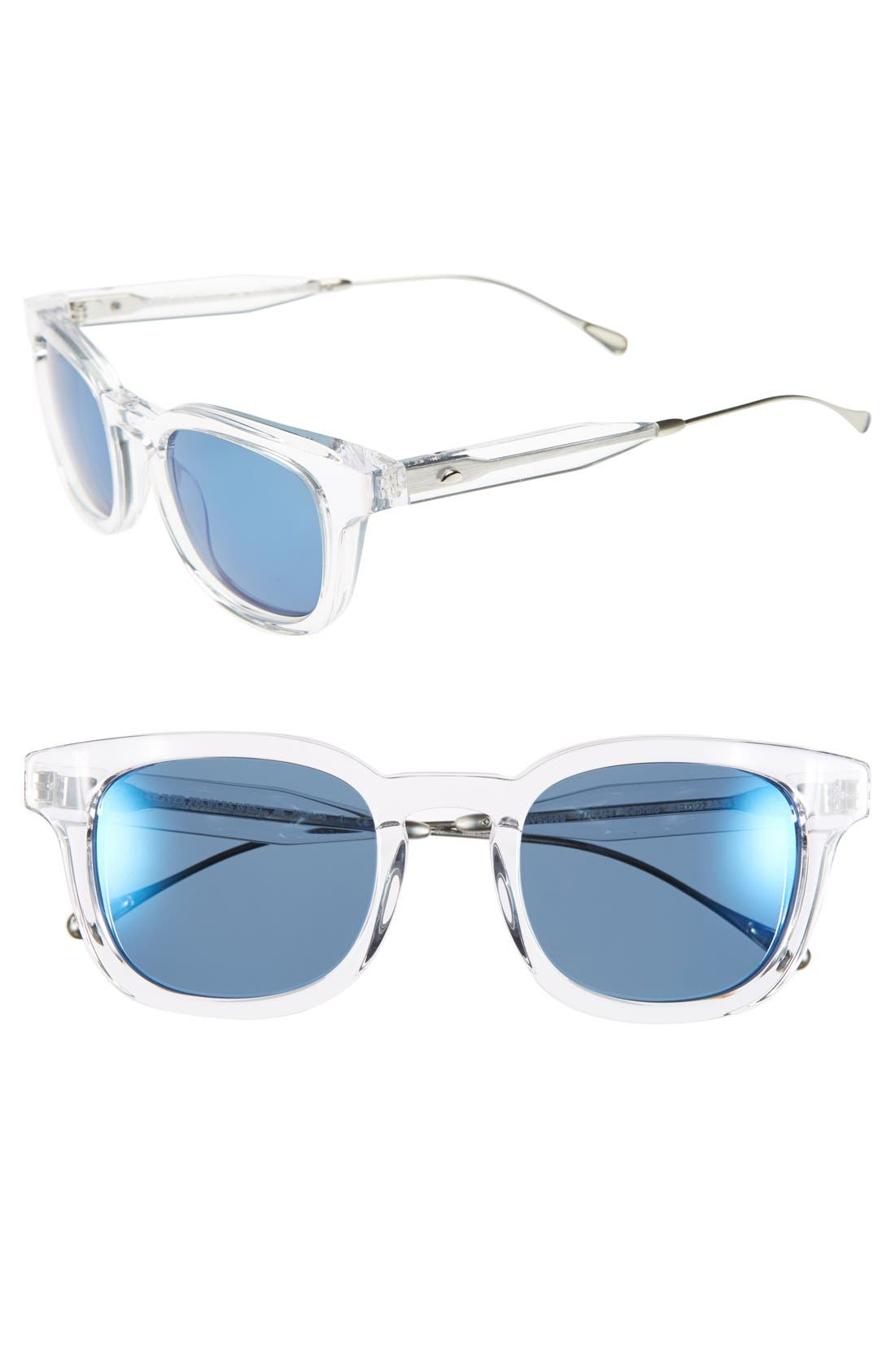 Alternate Image 1 Selected - Oliver Peoples West 'Cabrillo' 49mm Polarized Retro Sunglasses