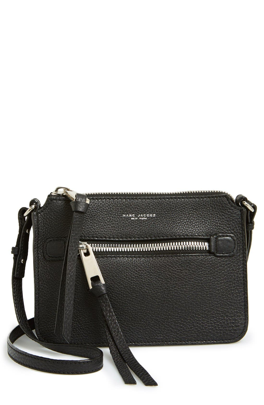 Main Image - MARC JACOBS 'Big Apple' Pouchette Crossbody Bag
