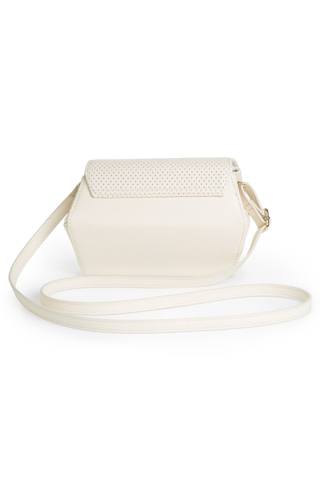 Alternate Image 4  - POVERTY FLATS by rian Perforated Crossbody Bag