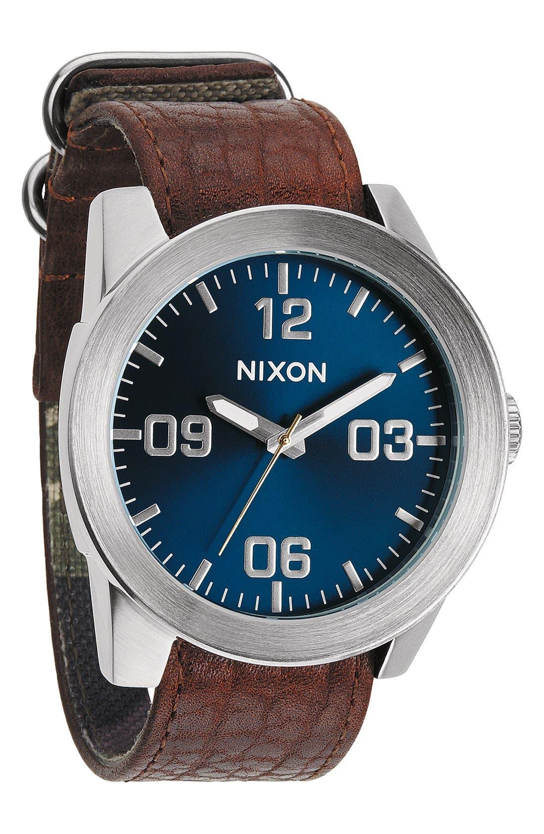 Alternate Image 4  - Nixon 'The Corporal' Watch, 48mm