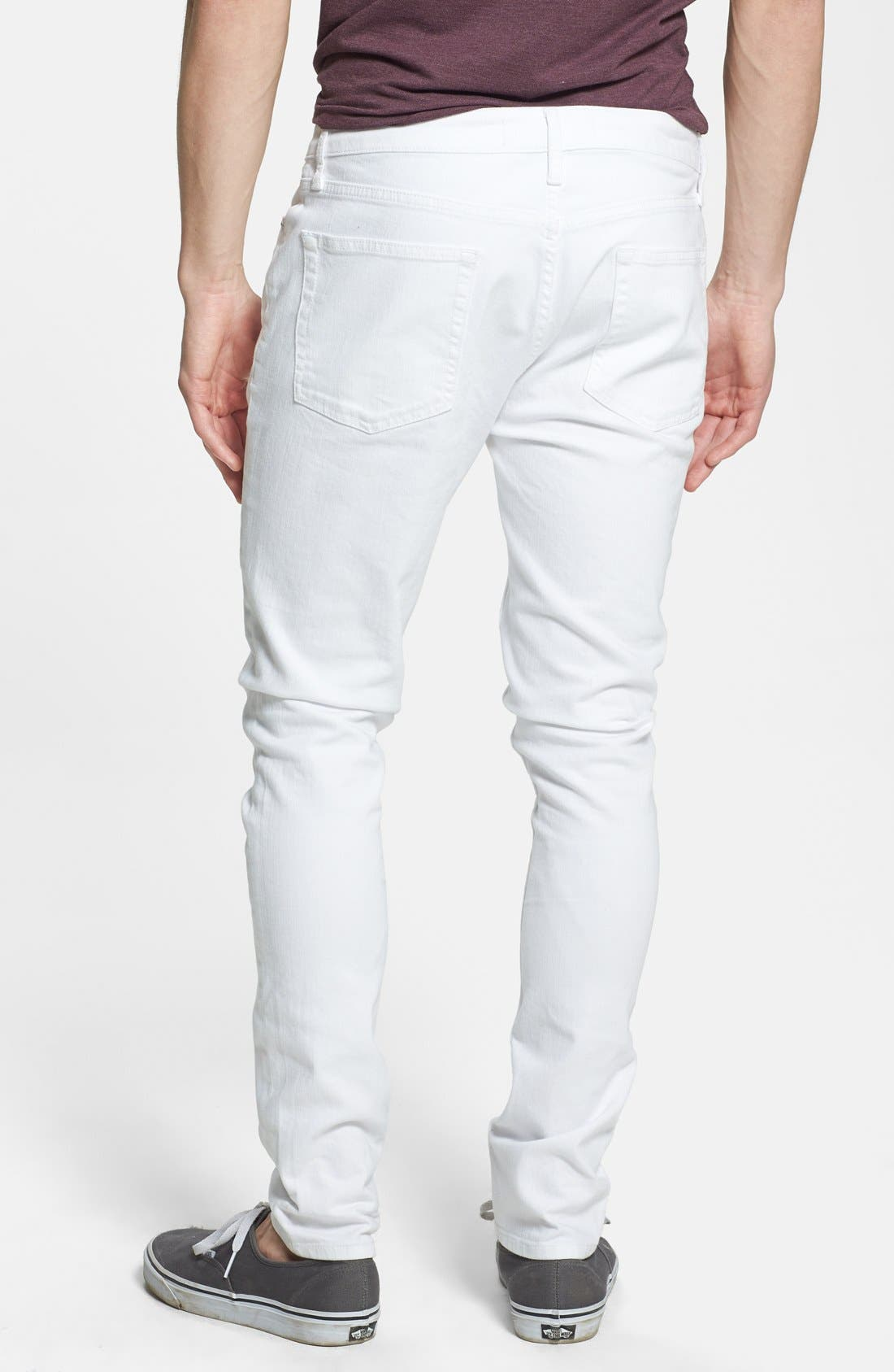 Alternate Image 2  - Topman Stretch Skinny Fit Jeans