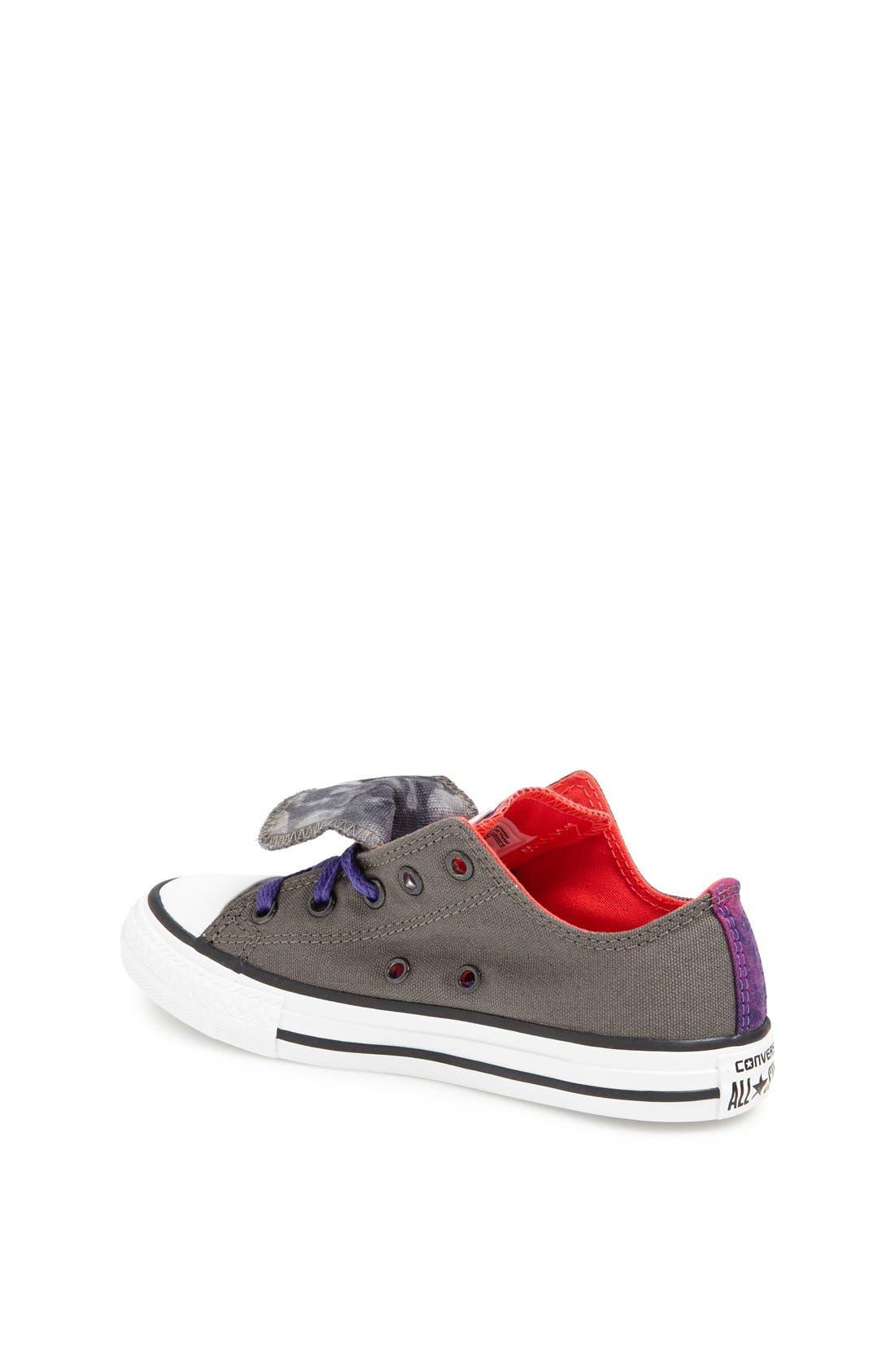 Alternate Image 3  - Converse Chuck Taylor® Double Zip Sneaker (Toddler, Little Kid & Big Kid)