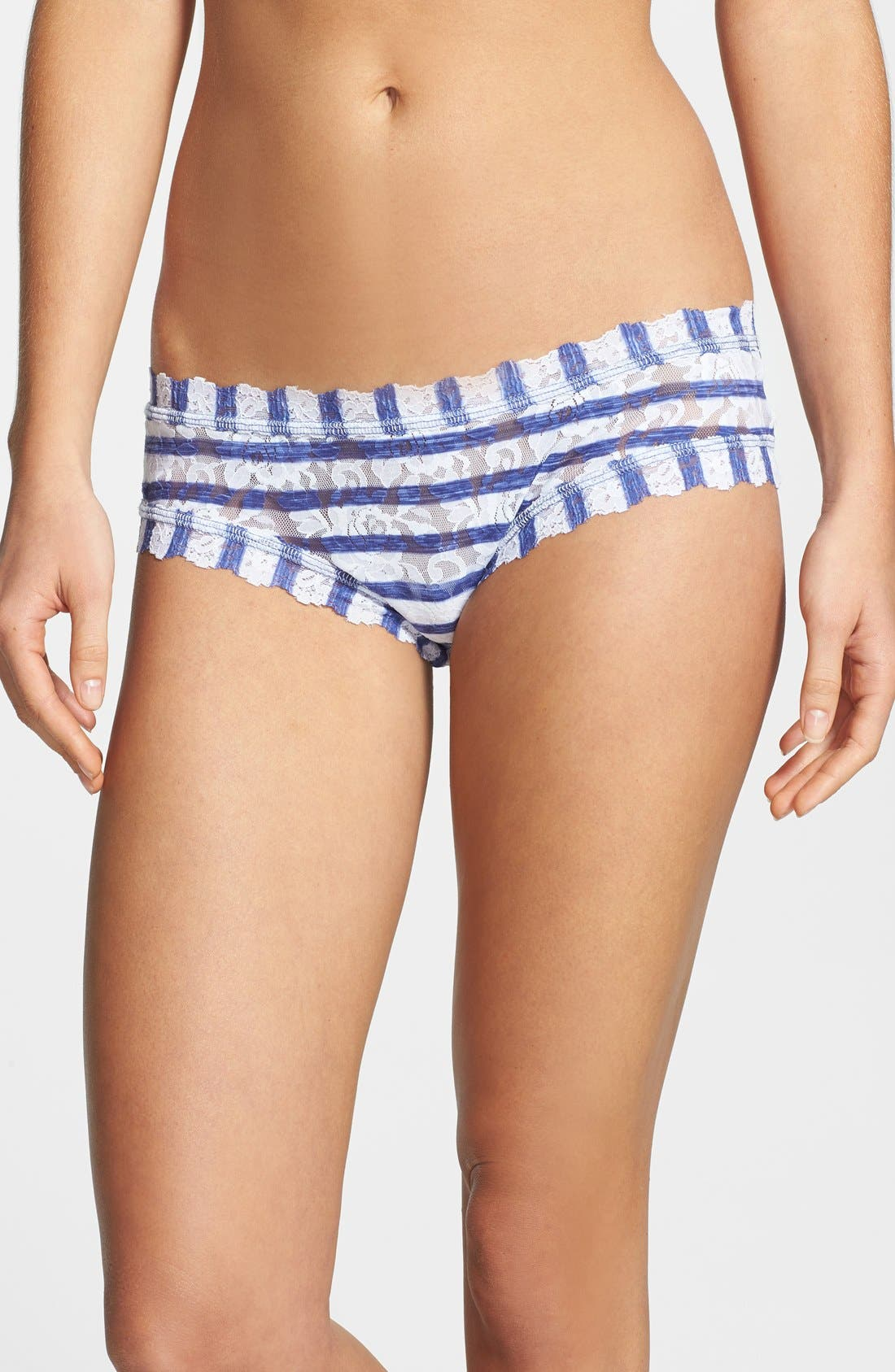 Alternate Image 1 Selected - Hanky Panky 'Sailor Stripe' Hipster Briefs