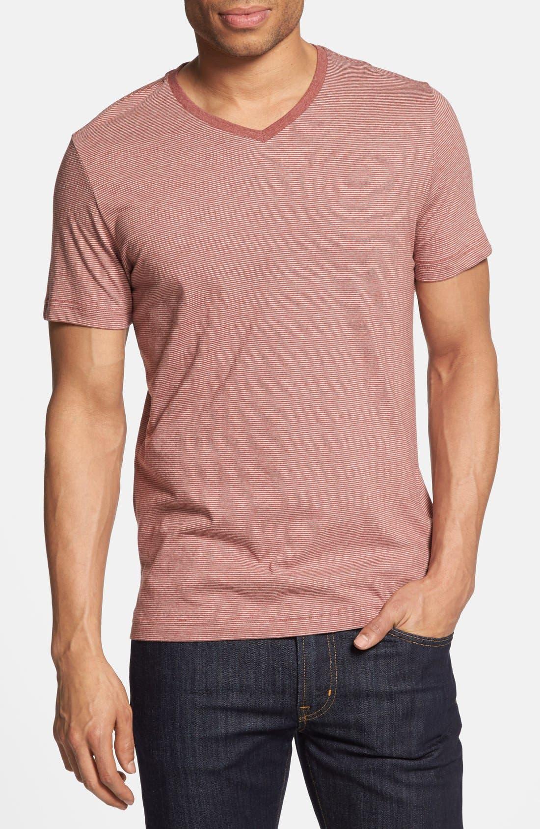 Alternate Image 1 Selected - Robert Barakett 'Caesar' V-Neck T-Shirt