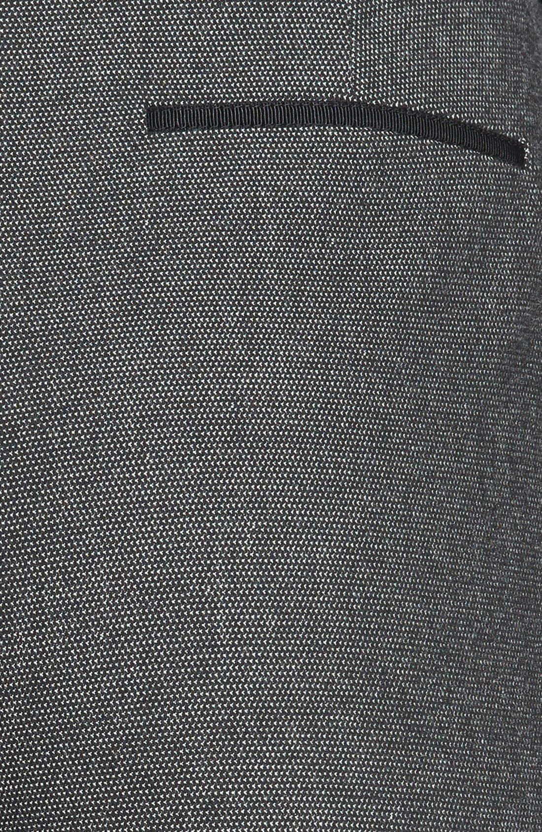 Alternate Image 3  - Halogen® 'Taylor' Pin Dot Weave Pants (Petite)