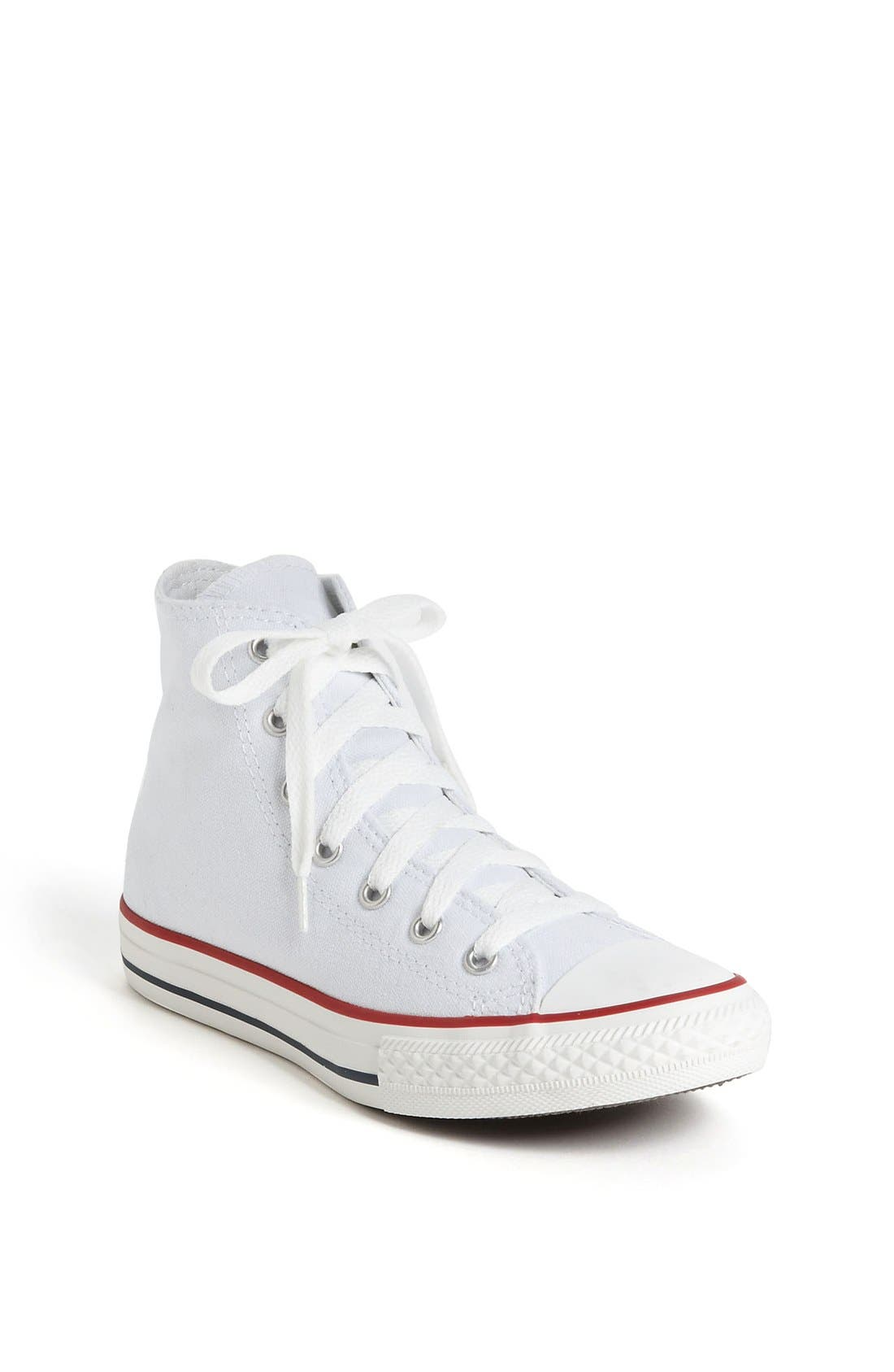 Chuck Taylor<sup>®</sup> High Top Sneaker,                             Main thumbnail 1, color,                             Optic White
