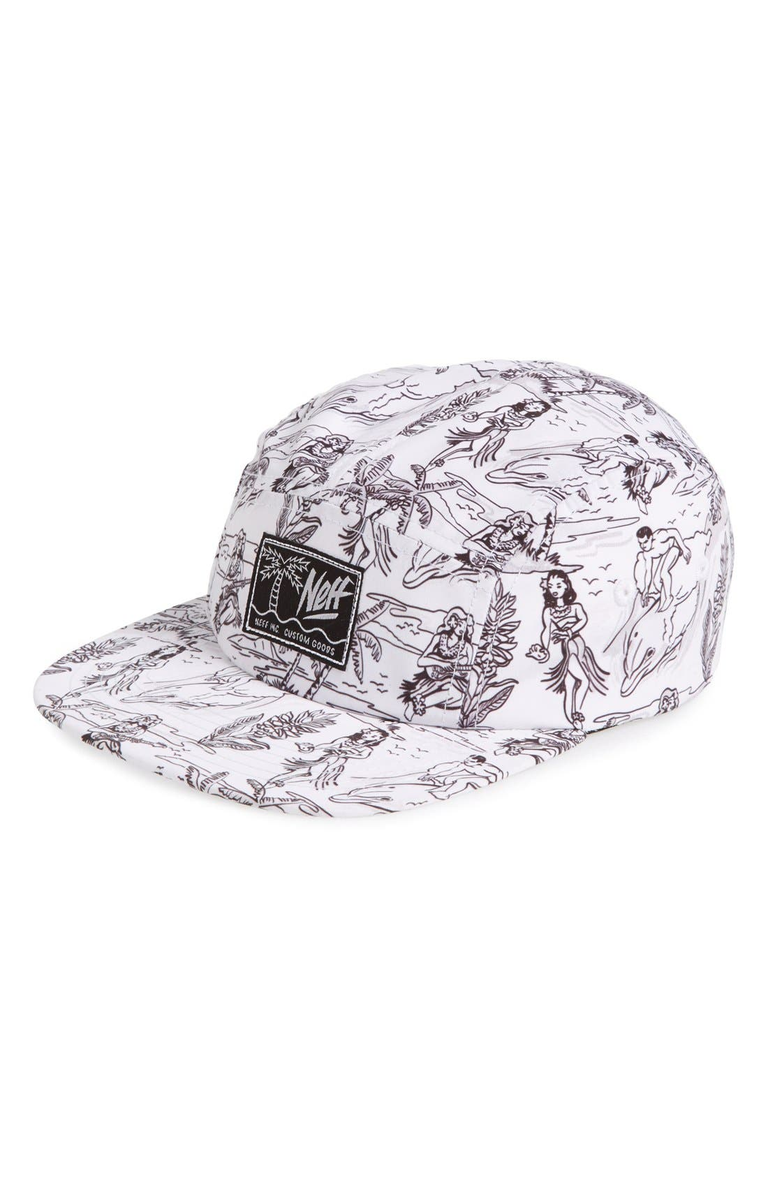 Alternate Image 1 Selected - Neff 'Hula' Camper Hat (Big Boys)