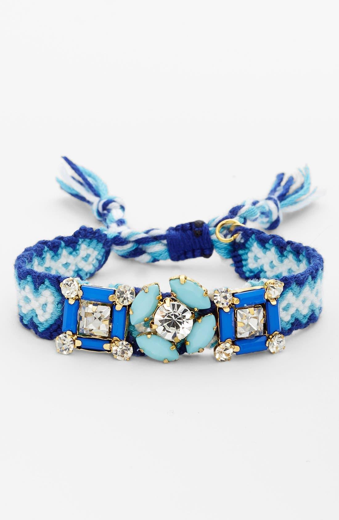 Alternate Image 1 Selected - Cara Embellished Friendship Bracelet