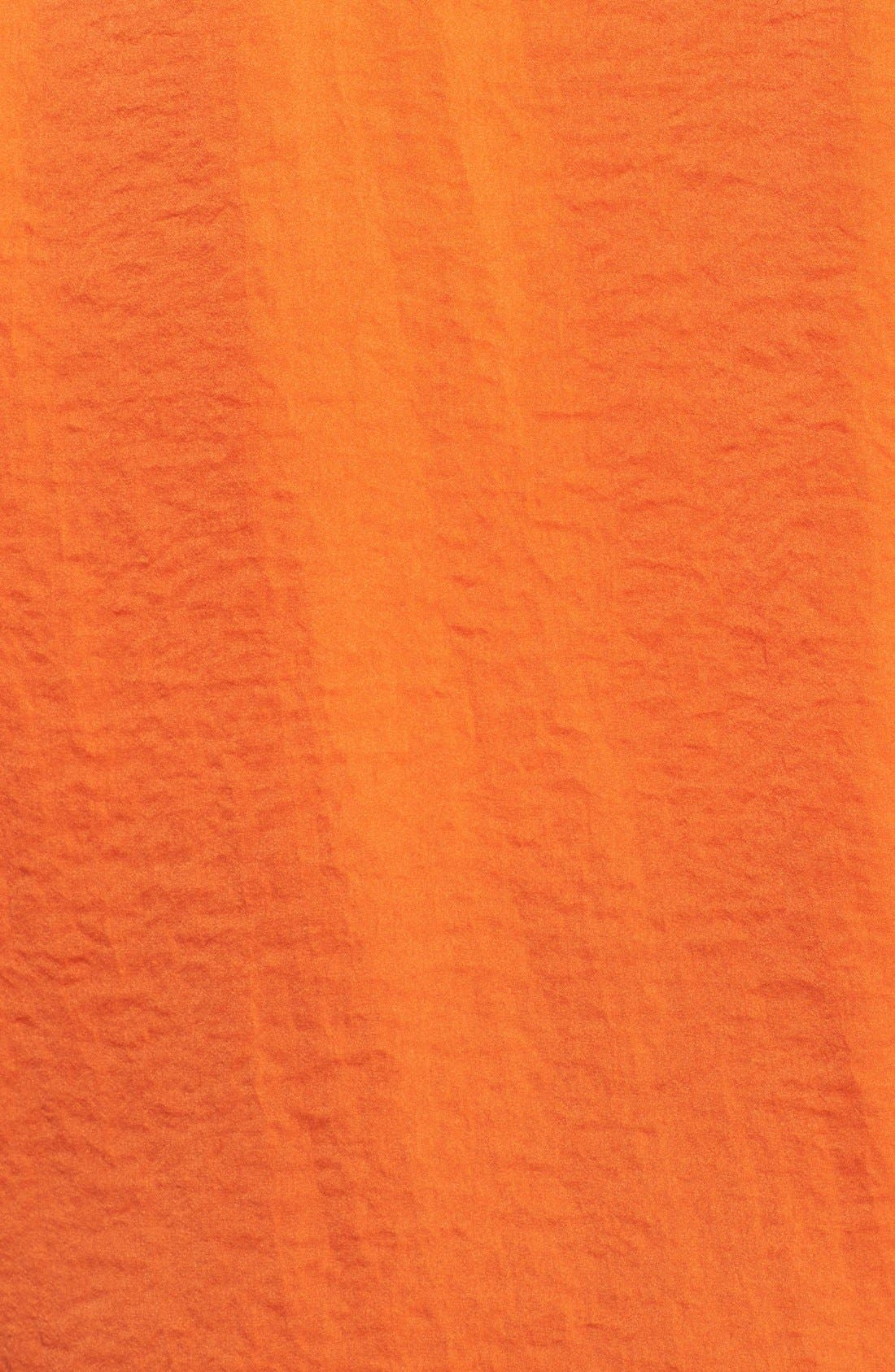 Alternate Image 3  - MICHAEL Michael Kors Roll Sleeve Hammered Satin Shirt (Plus Size)