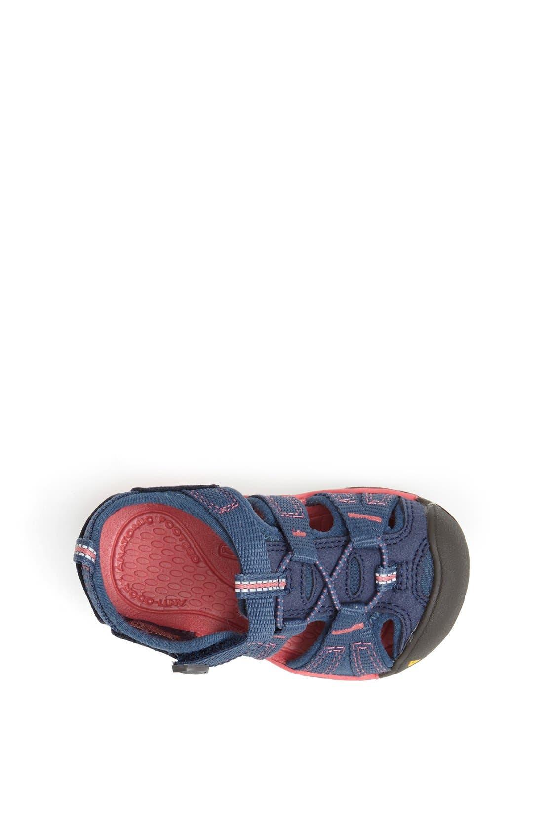 'Seacamp II' Waterproof Sandal,                             Alternate thumbnail 3, color,                             Blue Rose