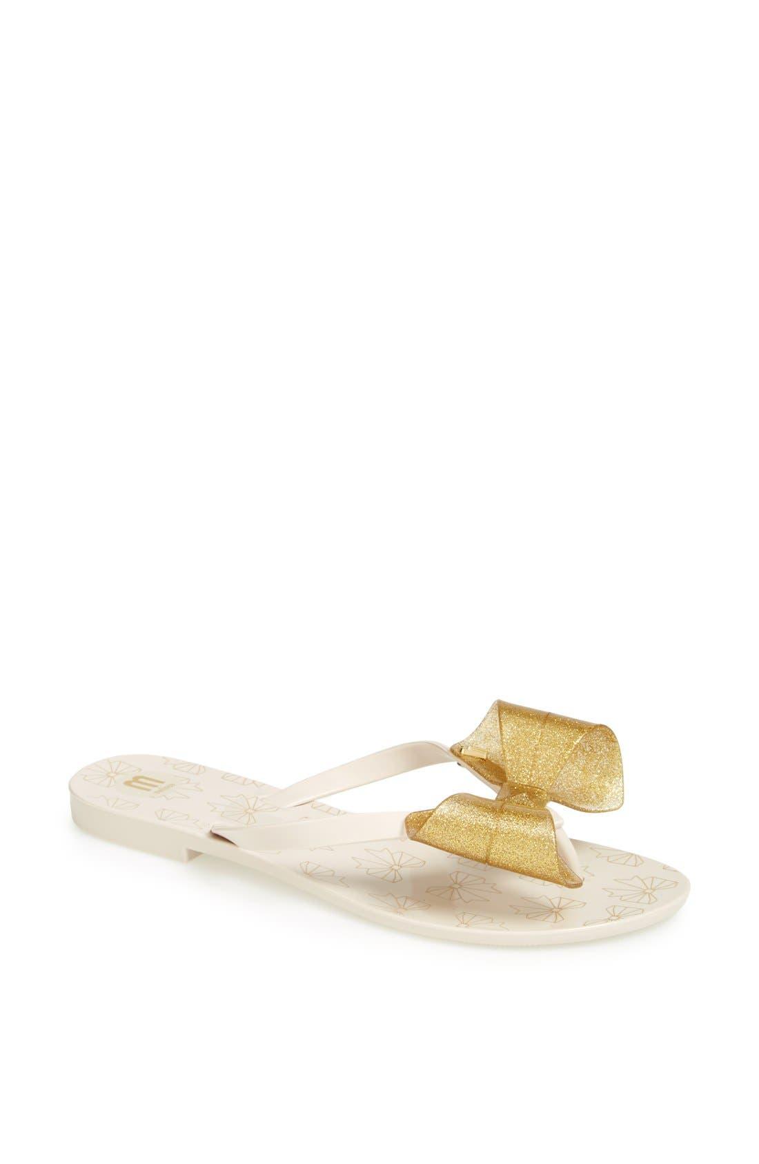 Alternate Image 1 Selected - Melissa 'Harmonic IV' Jelly Thong Sandal