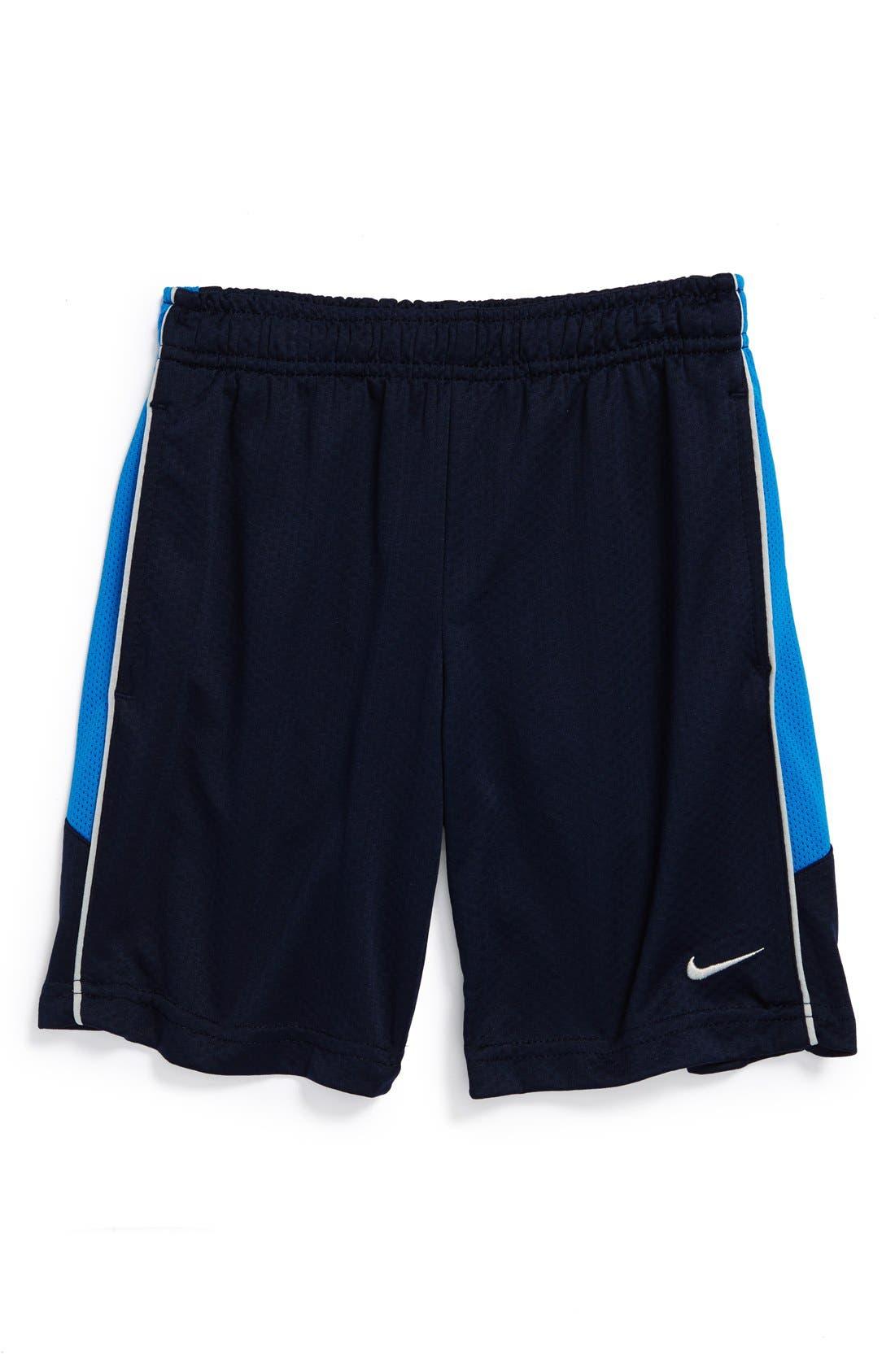 Alternate Image 1 Selected - Nike 'Acceler8' Dri-FIT Shorts (Little Boys)